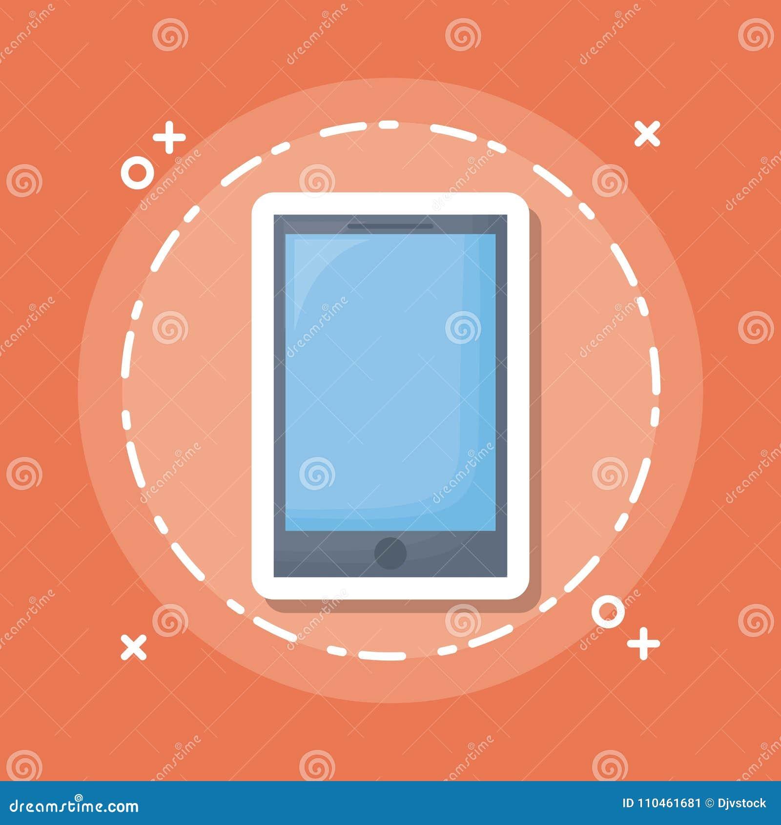 Smartphone apparatsymbol