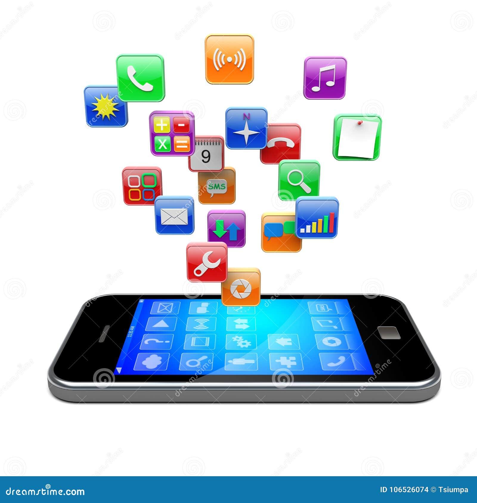 Smartphone apps图标