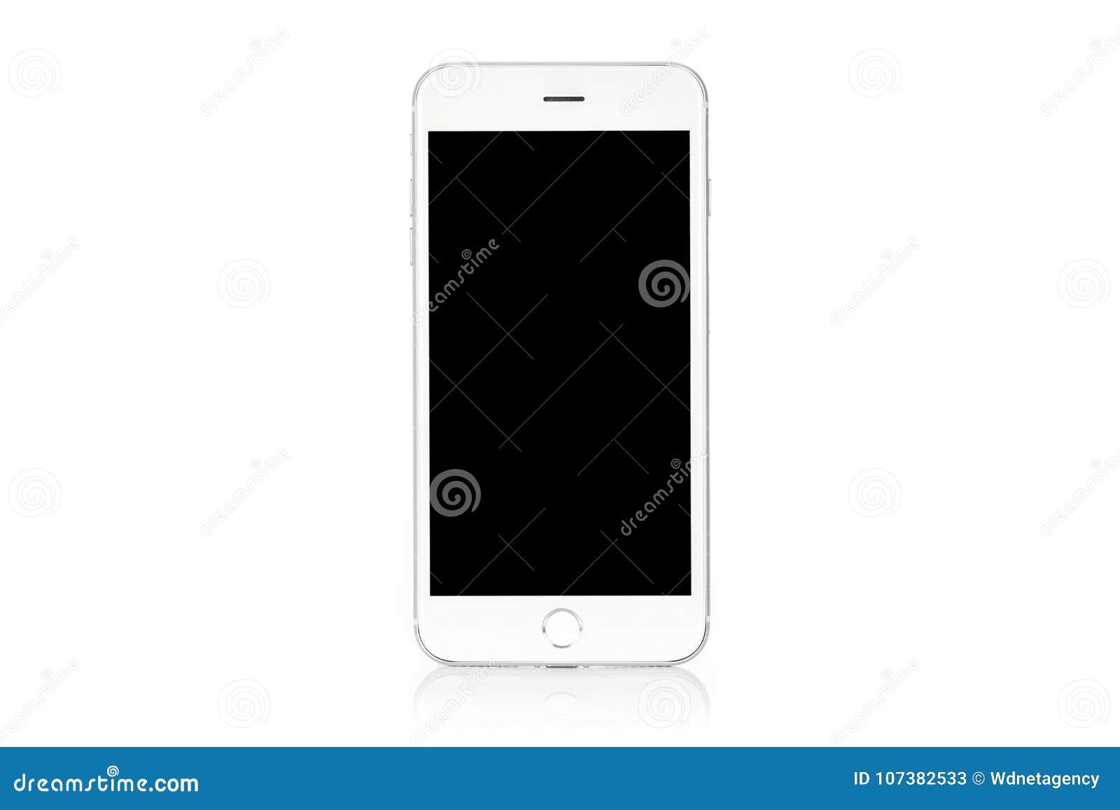 Smartphone blanco moderno