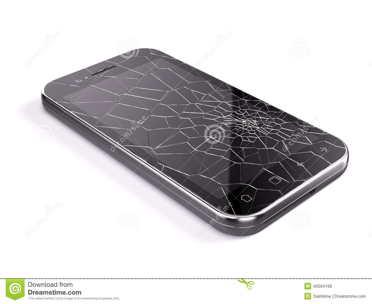 how to fix cracked glass on cell phone