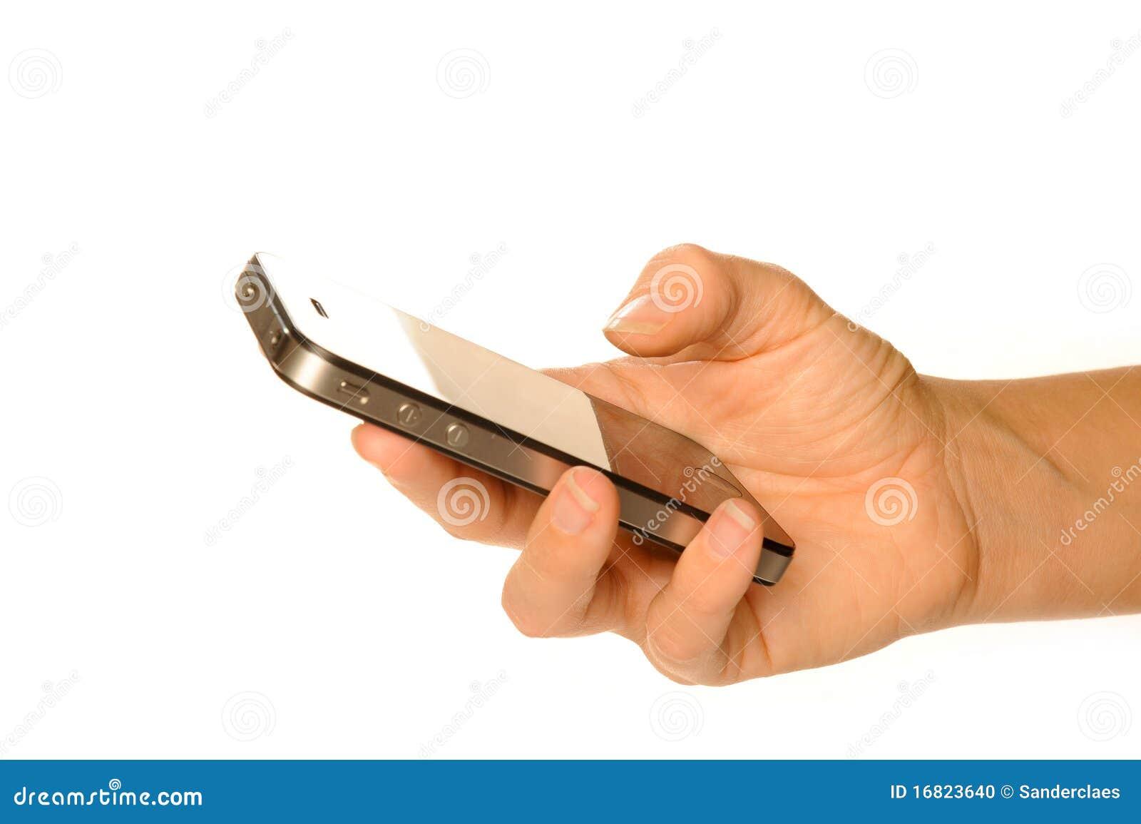 Smartphone de la explotación agrícola