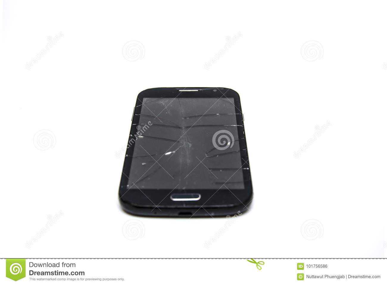 Smartphone drop stock photo  Image of mobile, dropped