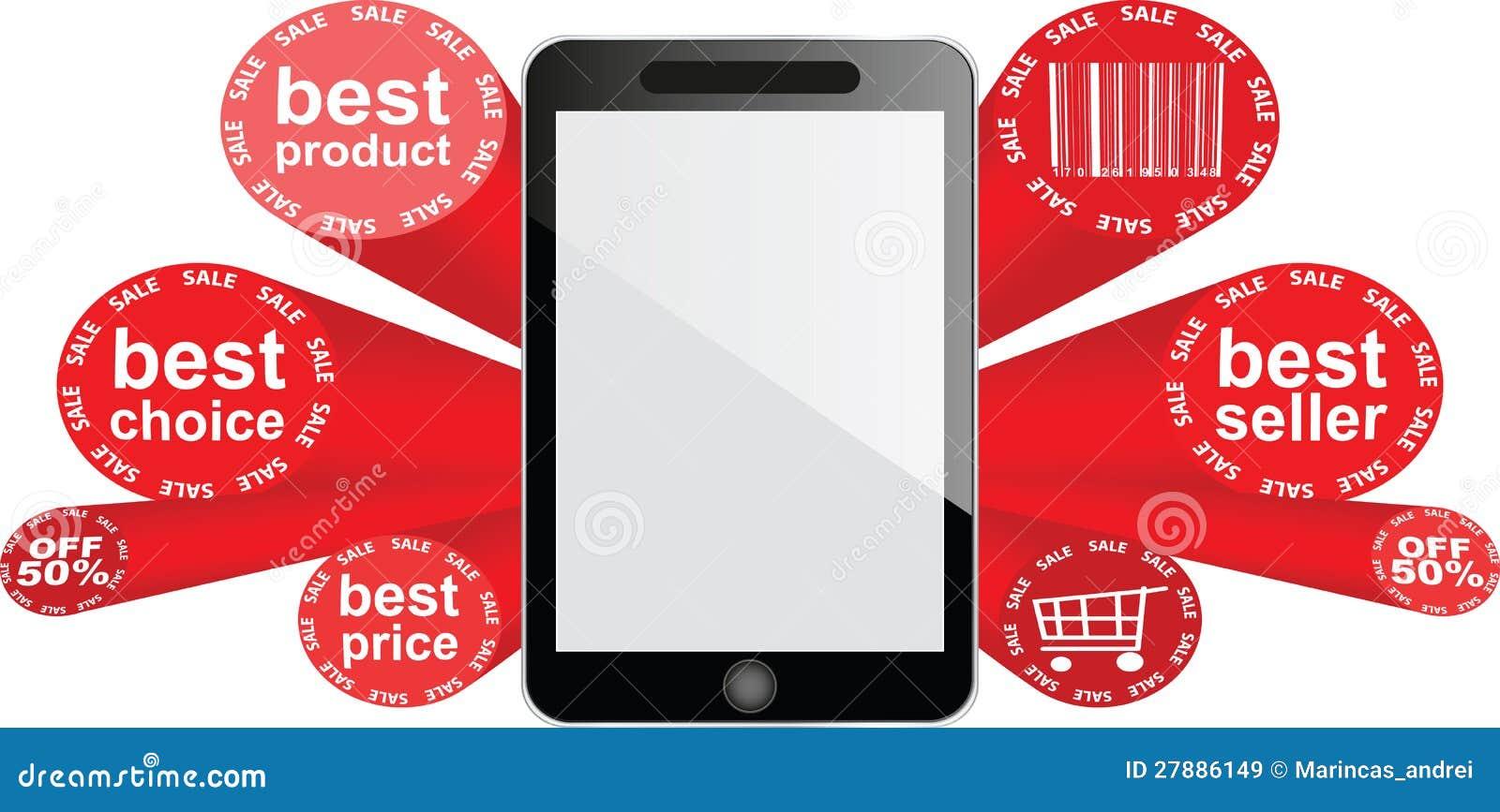 Smartphone - femtio procent rabatt