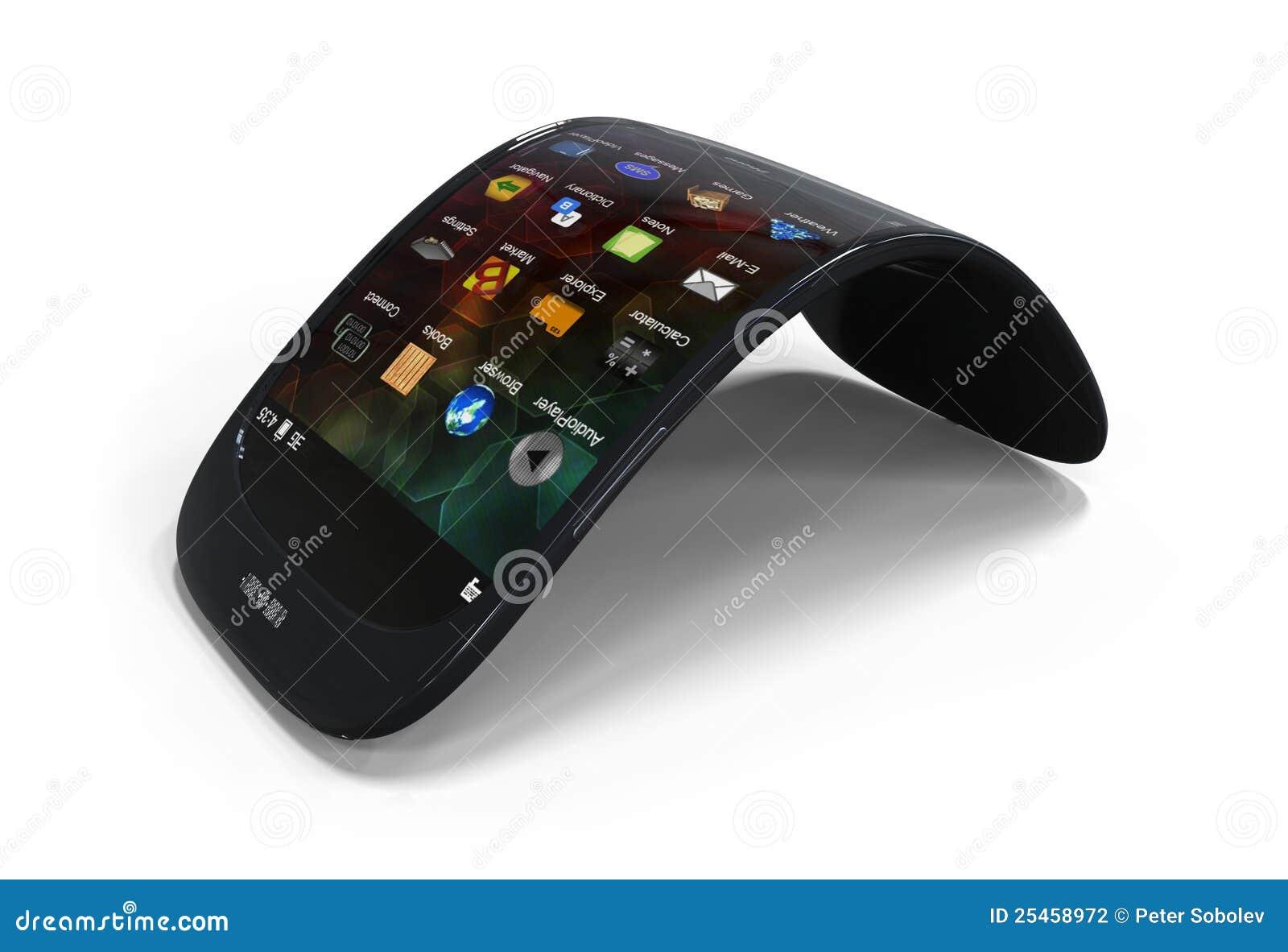 Smartphone genérico flexível