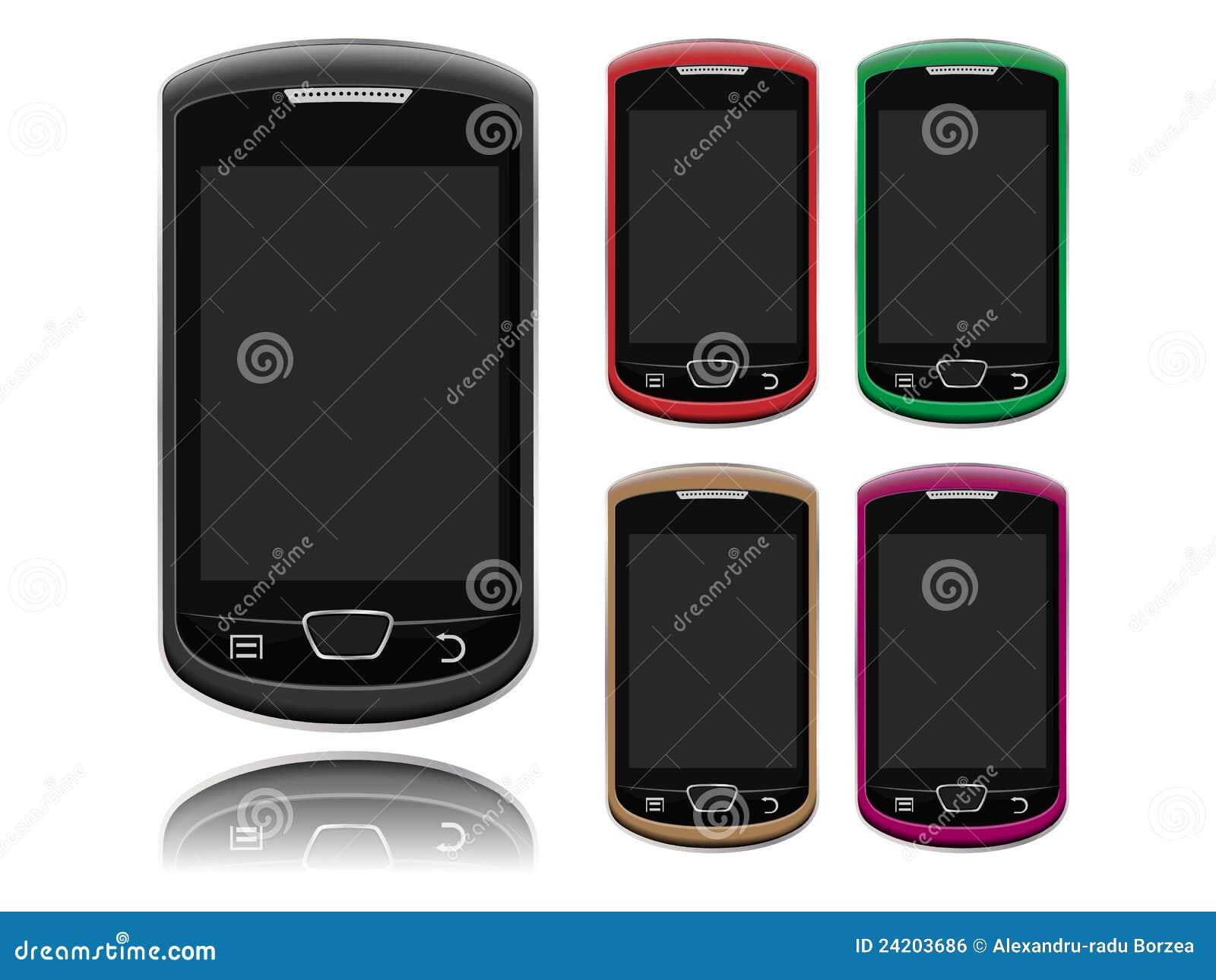 Smartphone layout