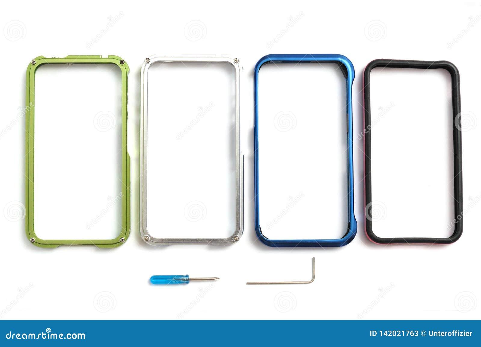 Smartphone obręcza pokrywy few skrzynki z usuwalnymi narzędziami