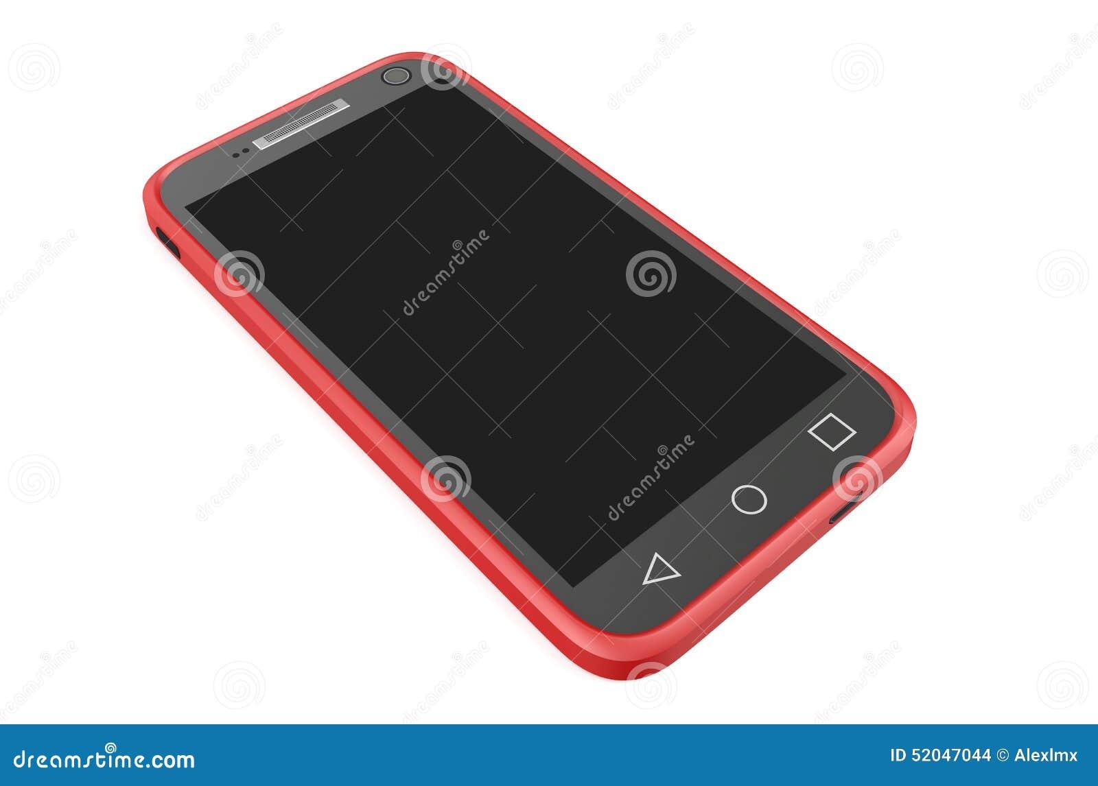 Smartphone rojo