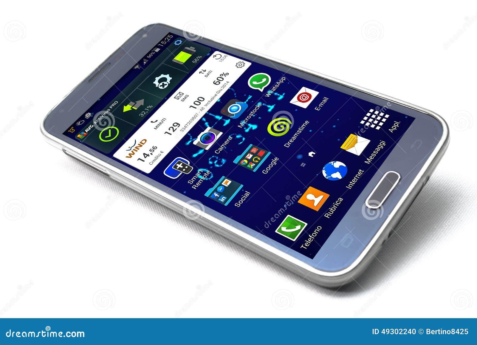 smartphone samsung galaxy s5 editorial image image 49302240. Black Bedroom Furniture Sets. Home Design Ideas