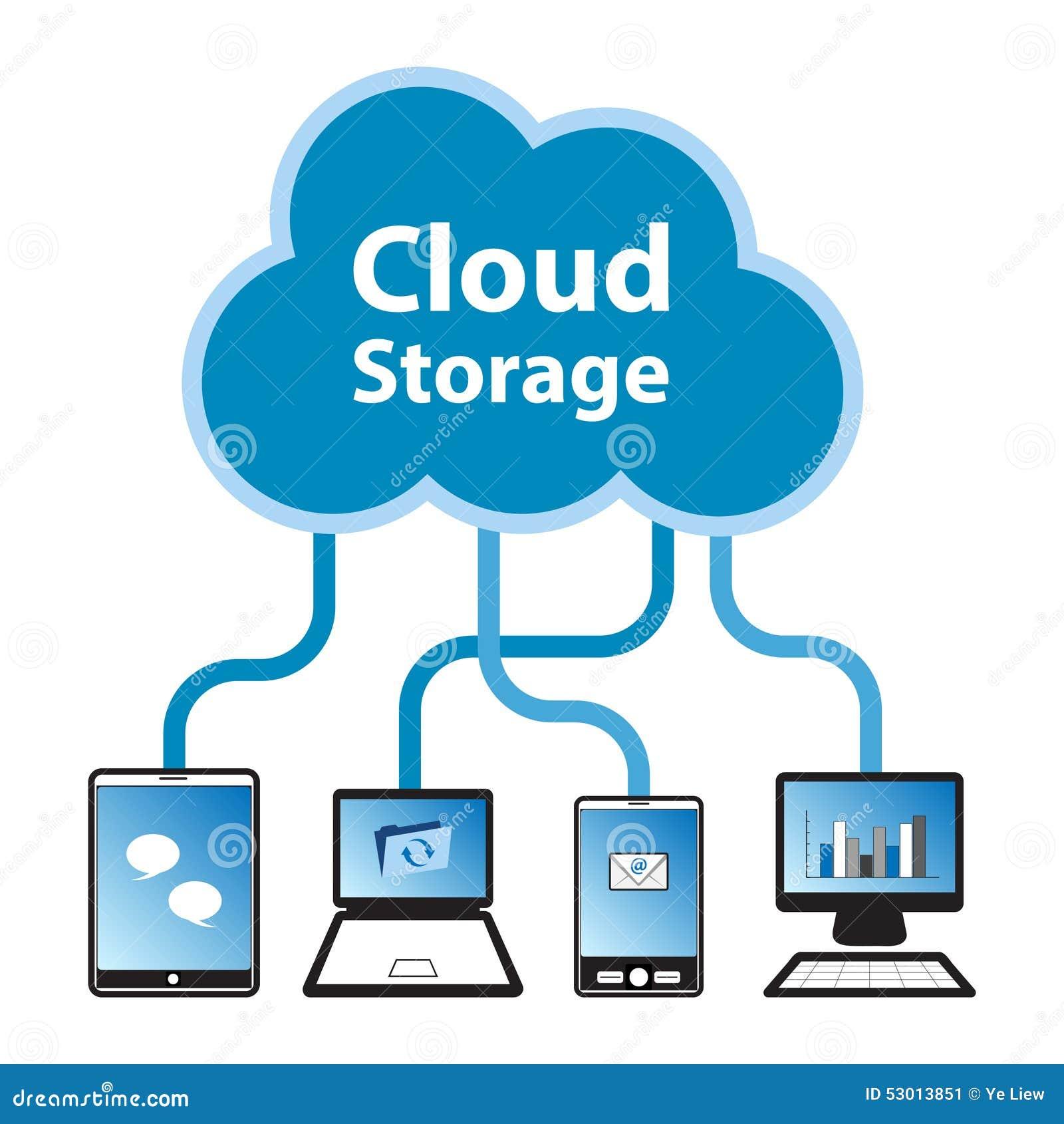 Smartphone surft op wolk in hemel