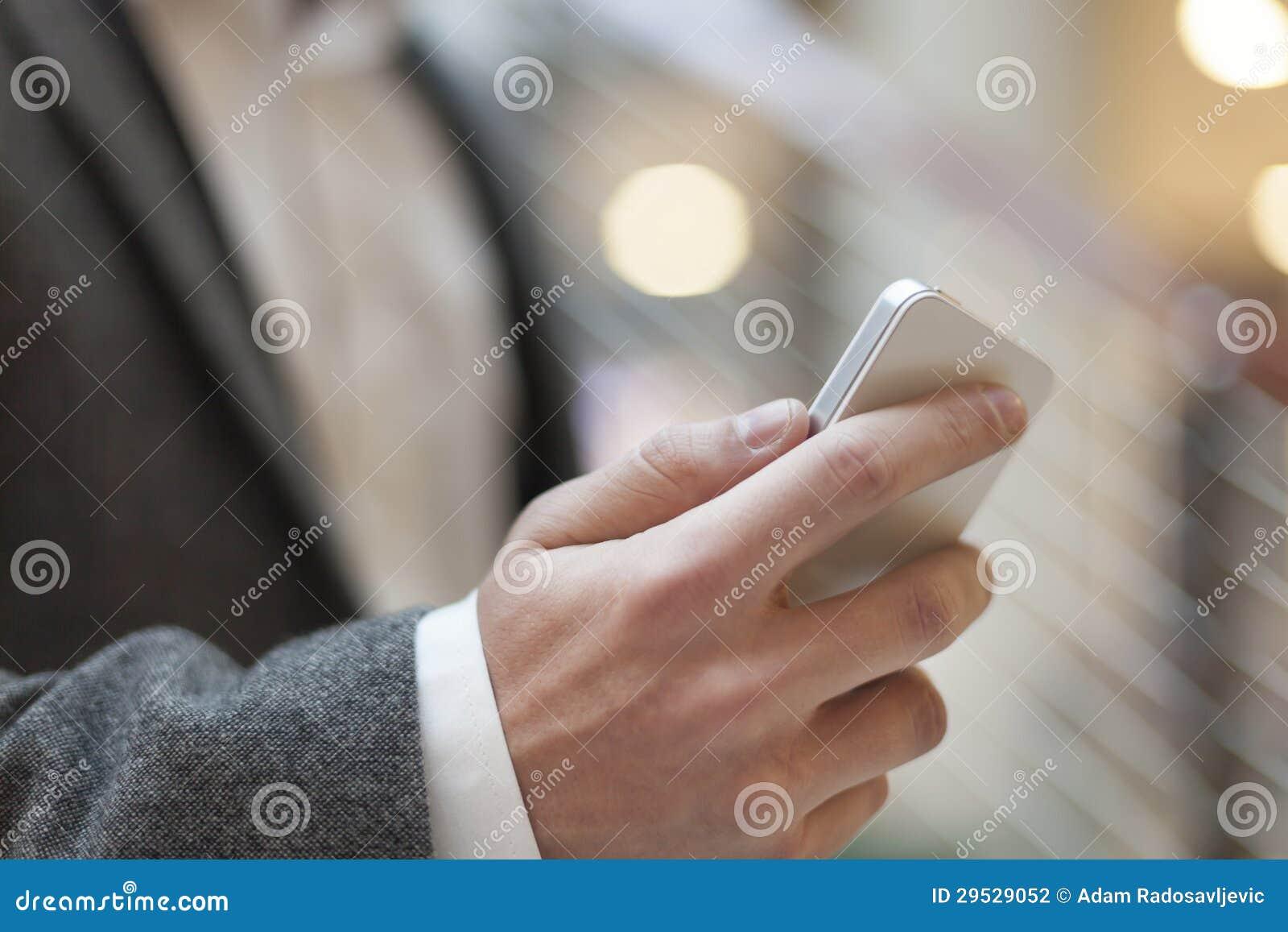 Smartphone - telemóvel móvel à disposição