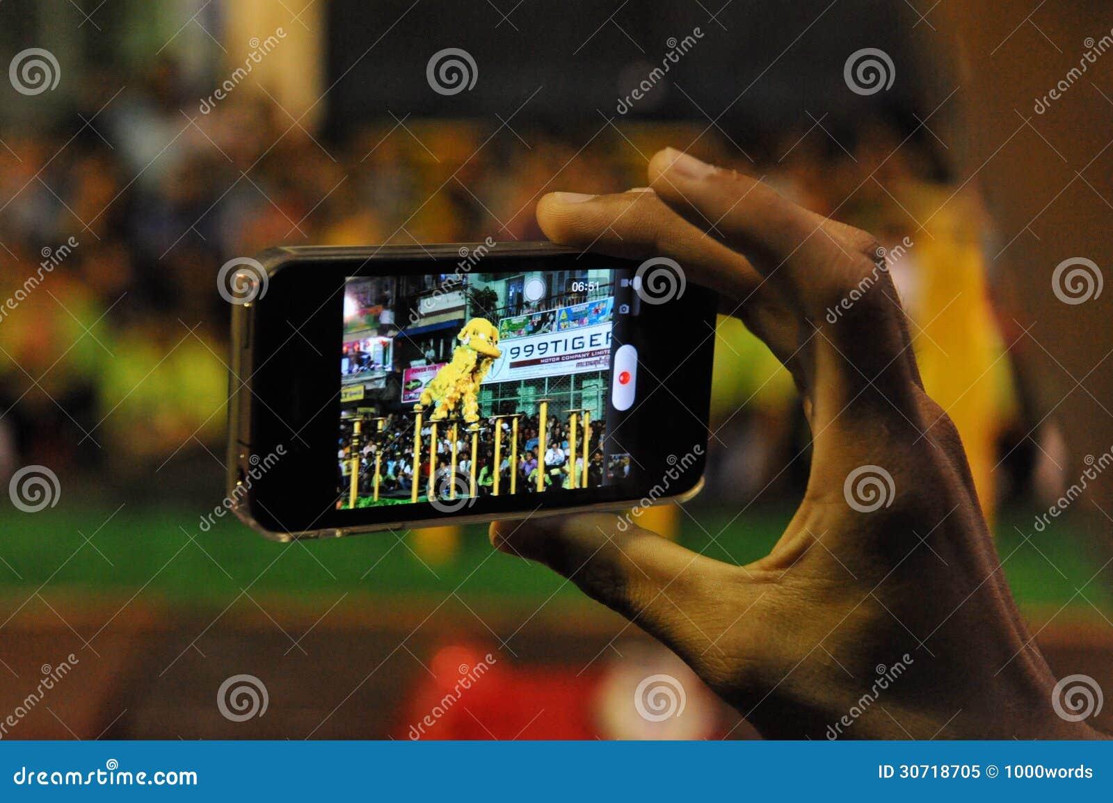 Smartphone użytkownik