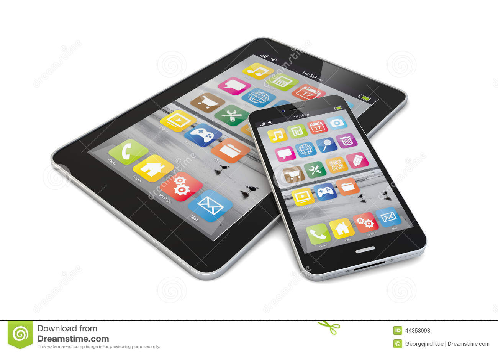 Smartphone y tableta