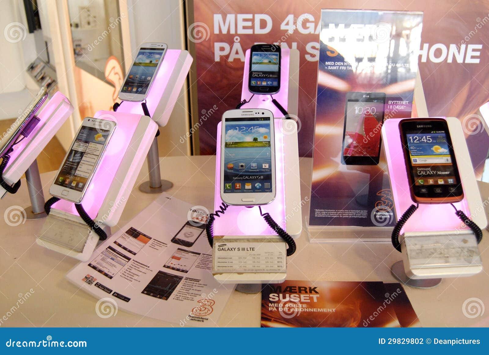 Smartpones de Samsung