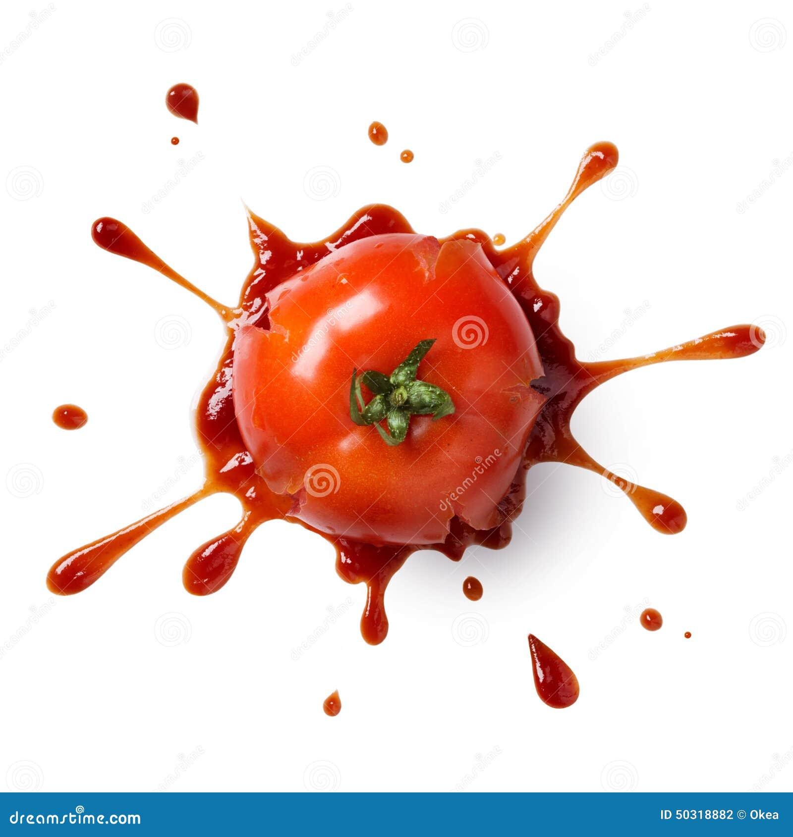 Ketchup Splatter Splat...