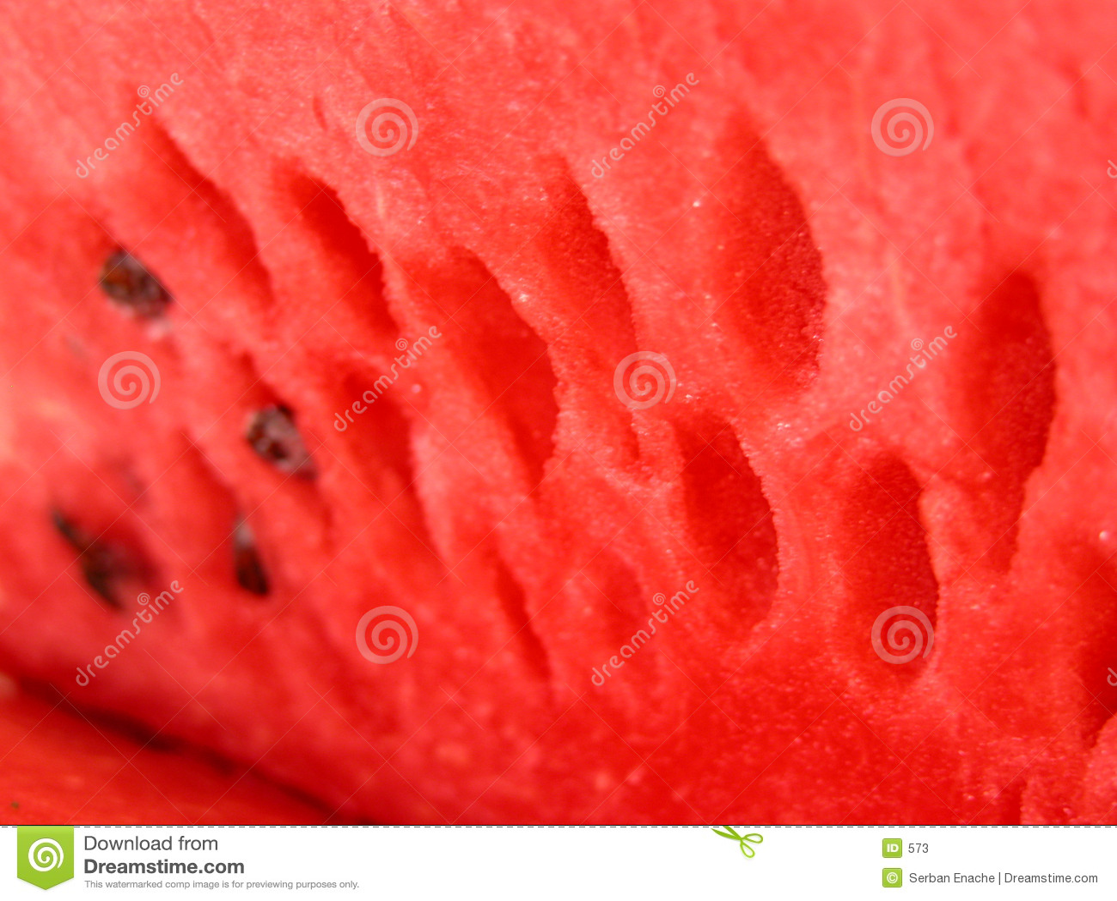 Smaskig tät vattenmelon