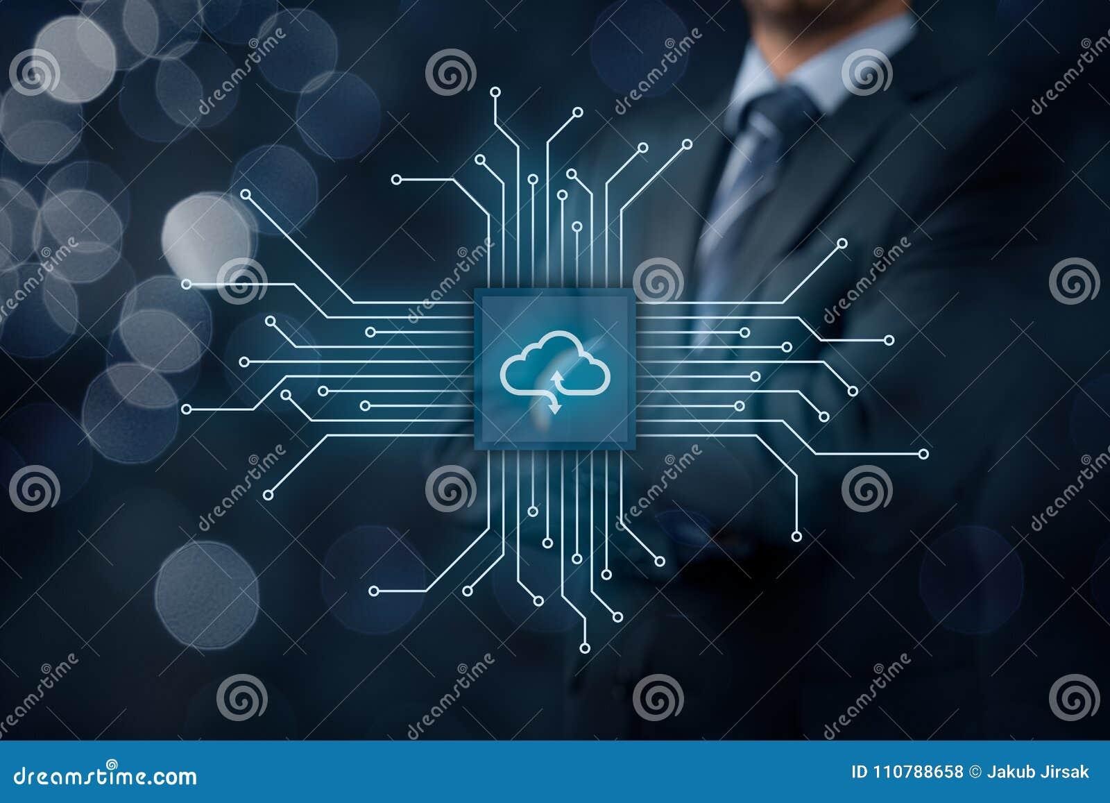 SMAU 2010 - de wolk van Microsoft gegevensverwerking