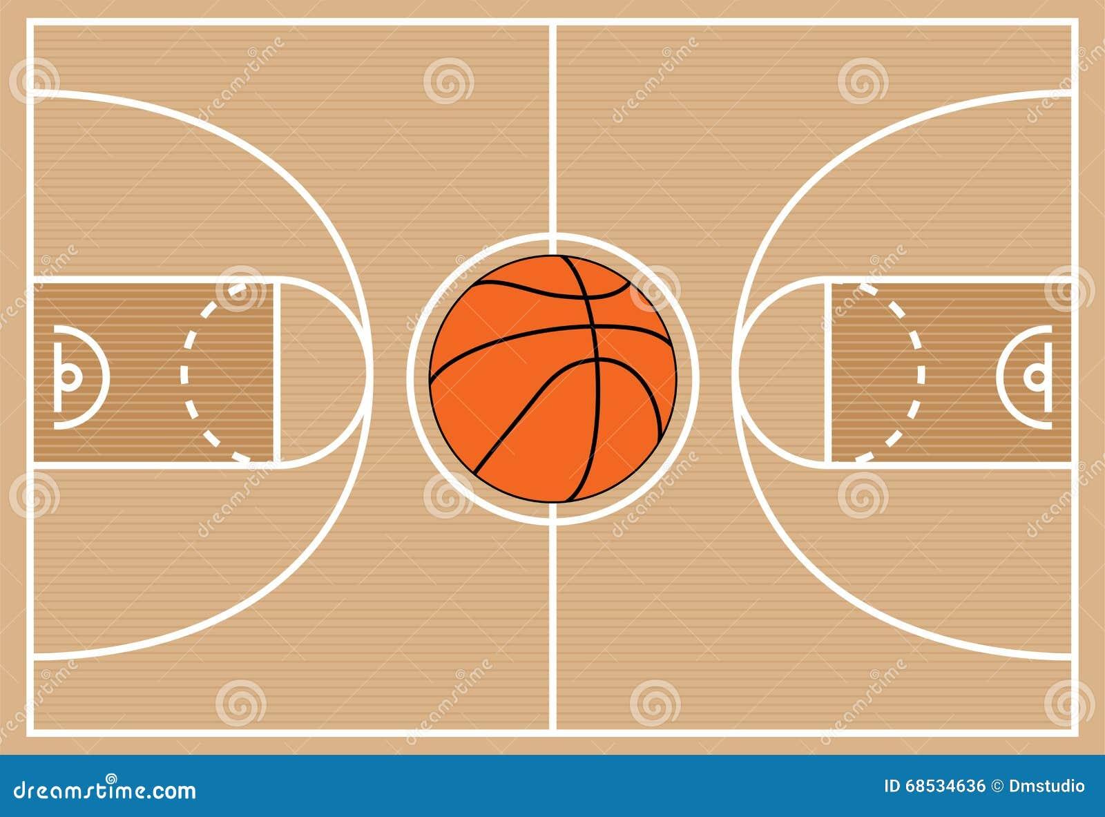 s u00edmbolo de la cancha de b u00e1squet ilustraci u00f3n del vector basketball court vero beach fl nba basketball court vector