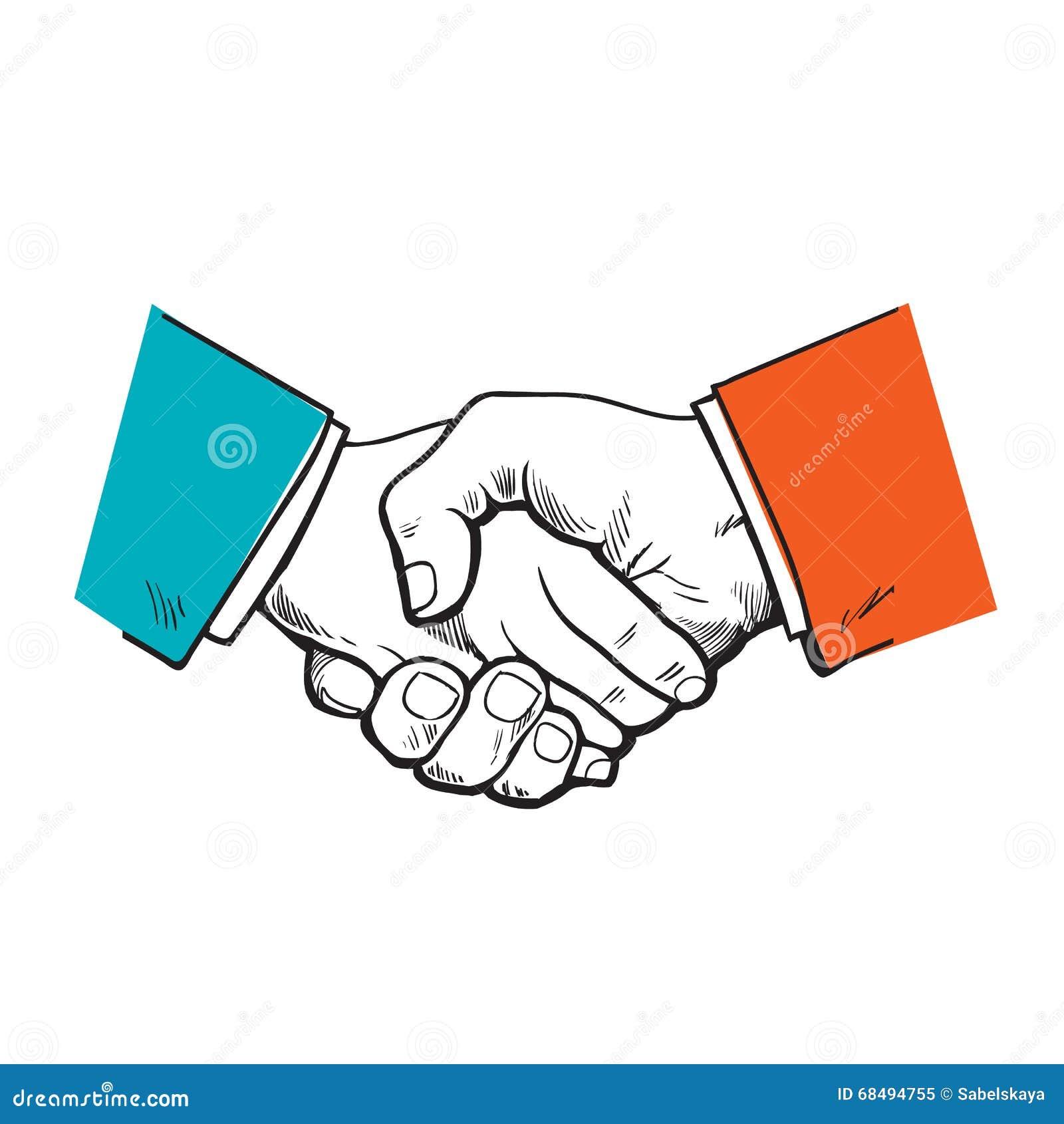 Símbolo De La Cooperación, Amistad, Sociedad, Acuerdo