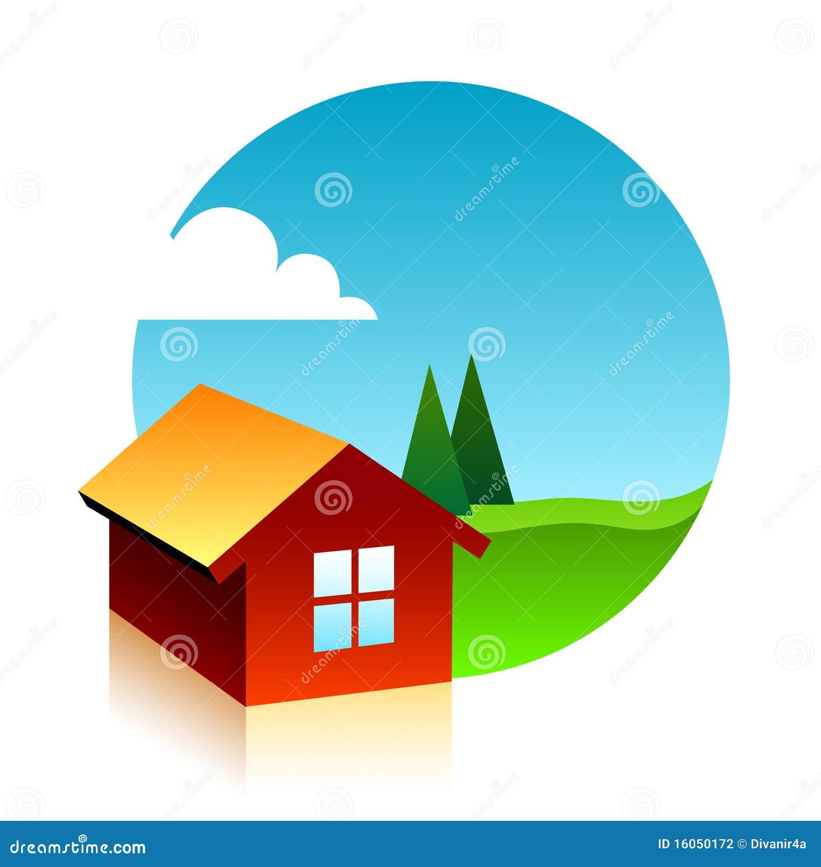 S mbolo de tres casas fotograf a de archivo imagen 16050172 - Imagen de casas ...