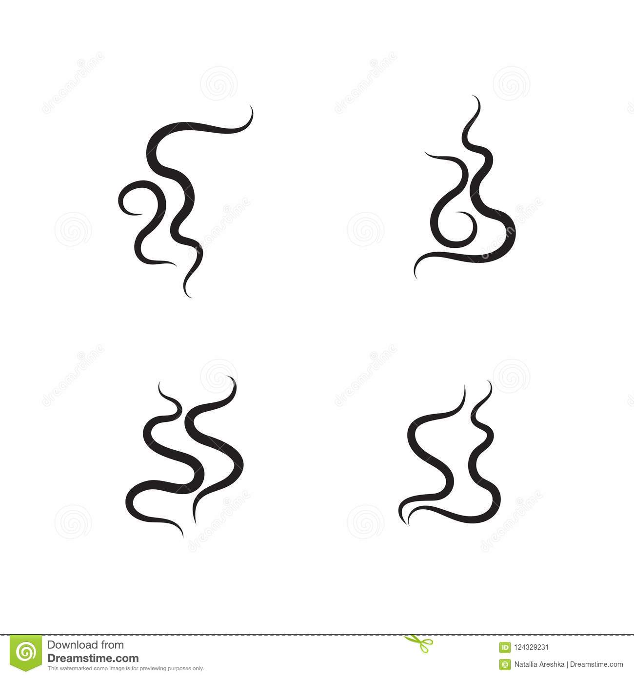 smell aroma sign set stock vector illustration of pattern 124329231 rh dreamstime com small victorian homes small vector network analyzer