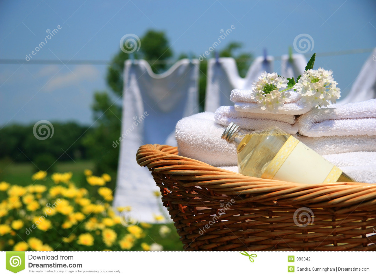 Smell of fresh towels