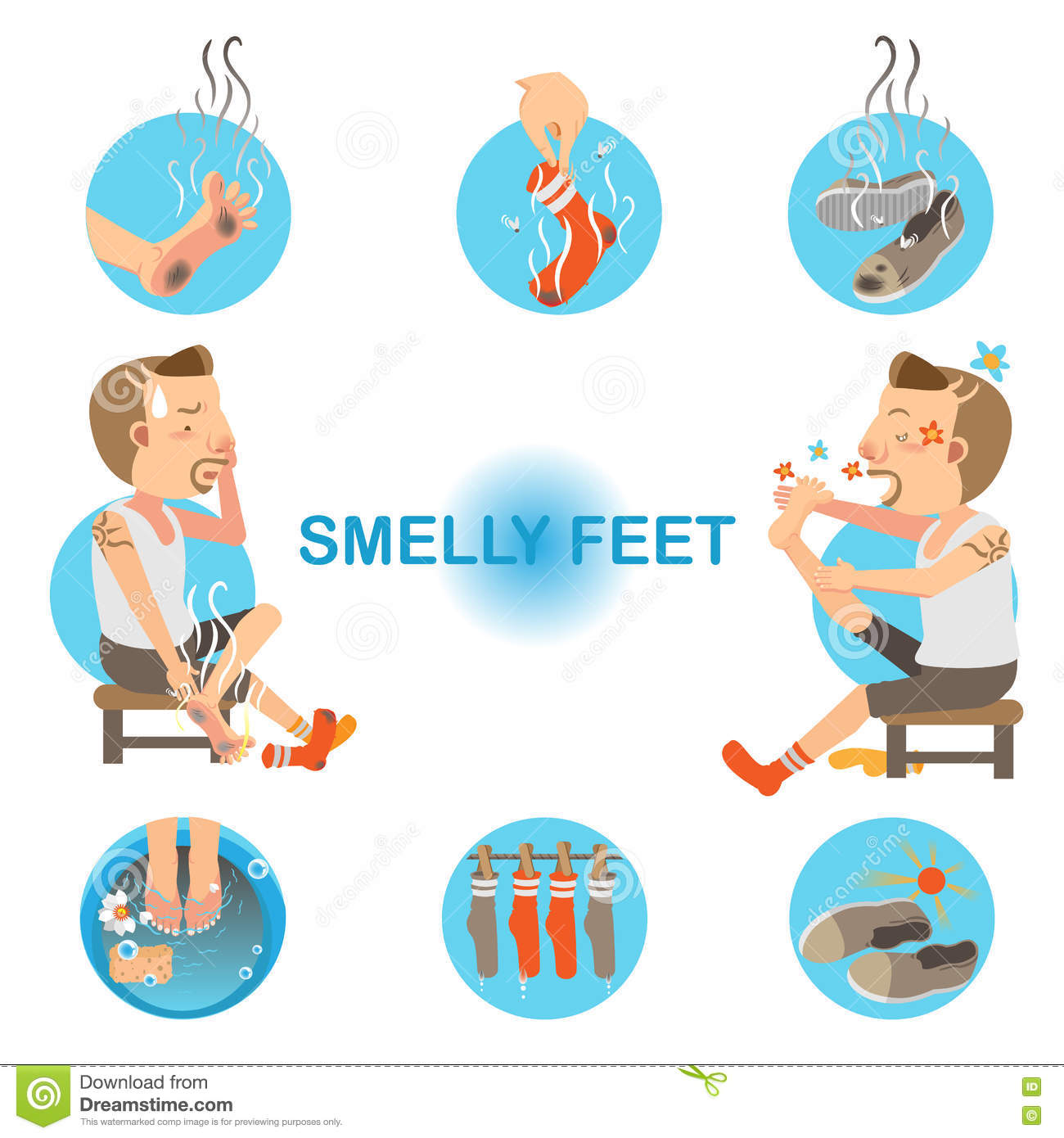 how to stop smelly shoes from smelling