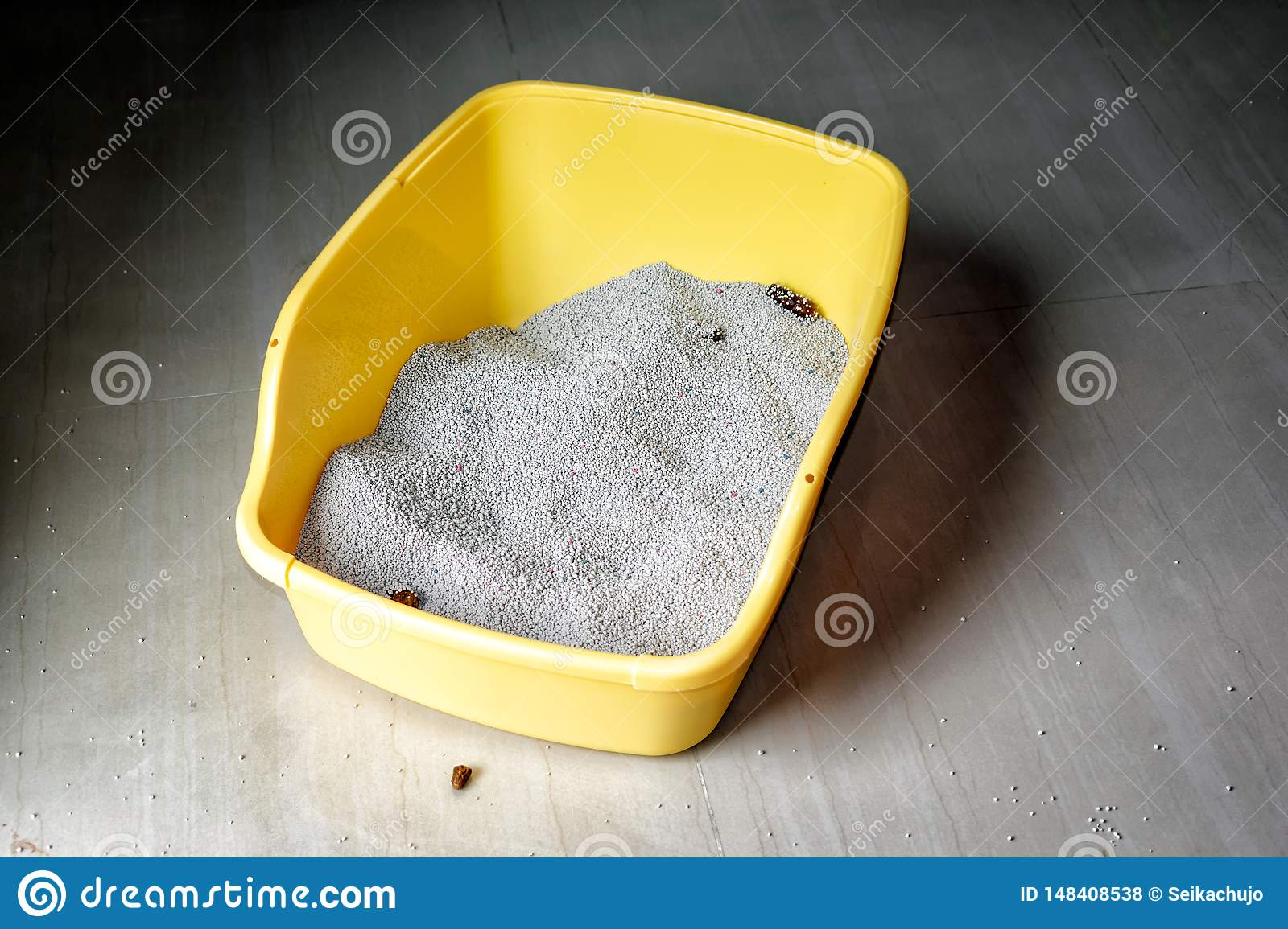 Smelly and Messy Hard to Clean Cat Litter Box