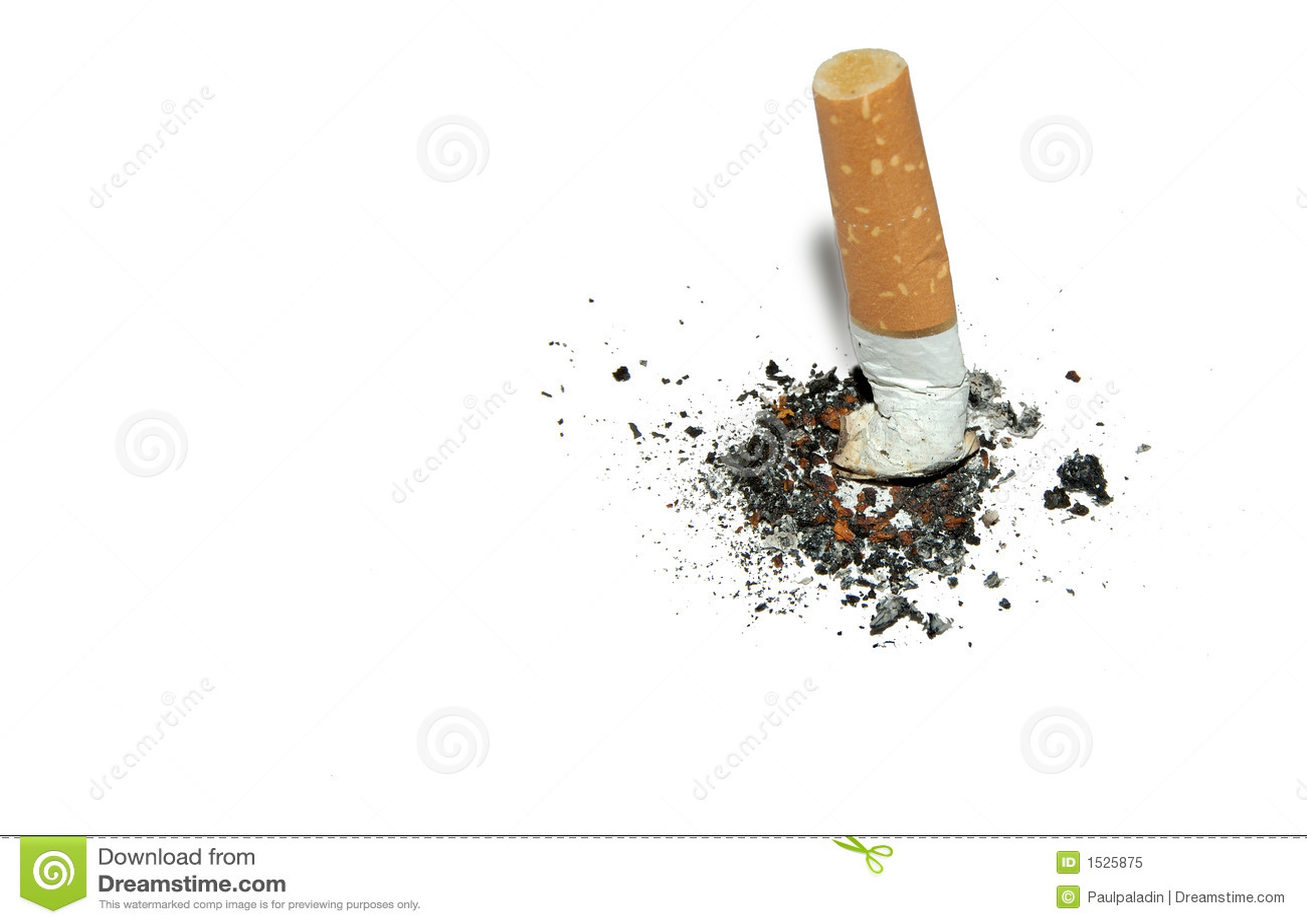 Smetta di fumare la priorità bassa con copyspace