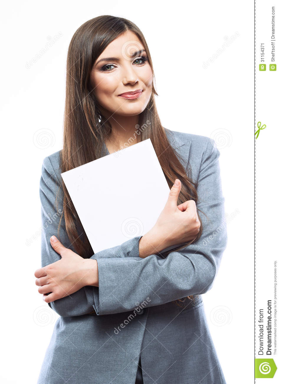 smile-business-woman-portrait-blank-whit
