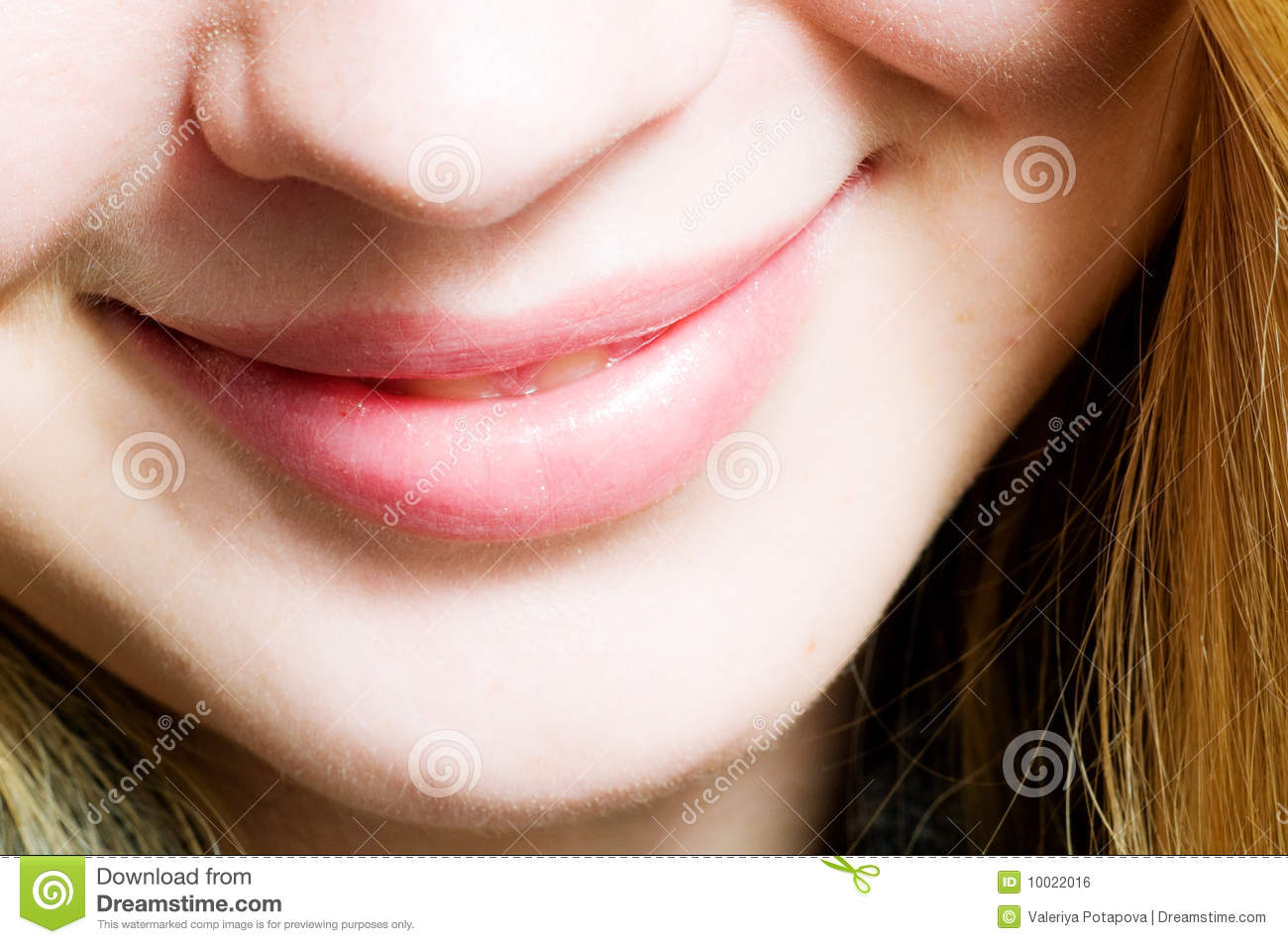 Smile. Close-up Mouth Royalty Free Stock Image - Image: 10022016