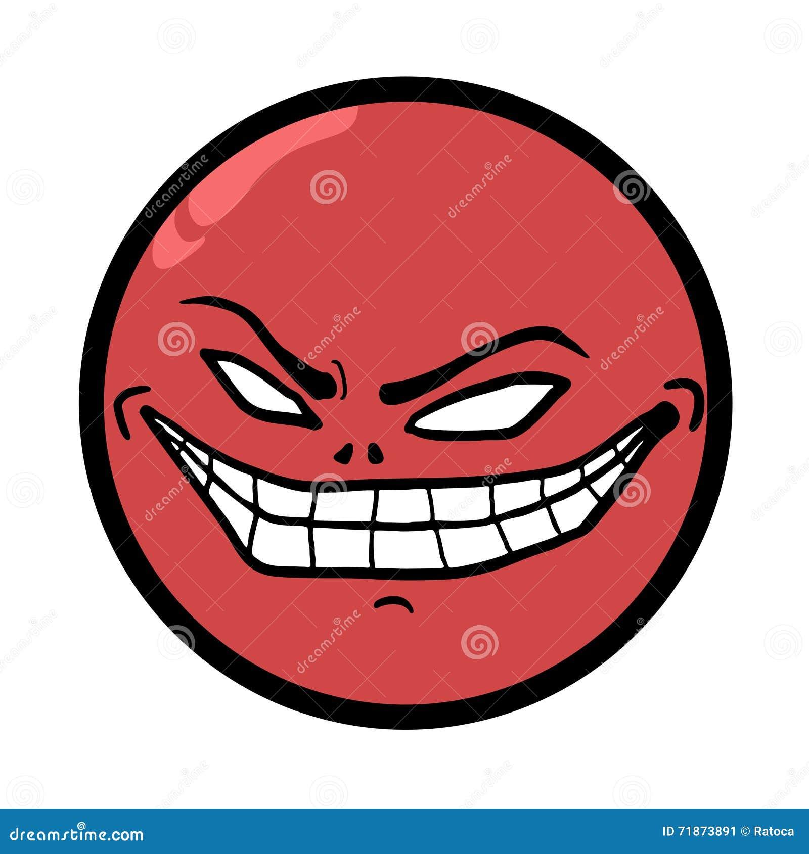 smile crazy face stock vector illustration of monster 71873891
