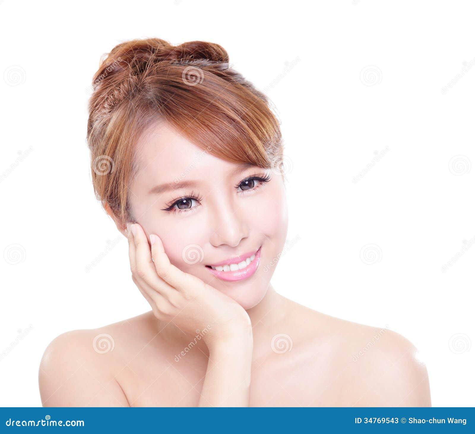 Asian White Face