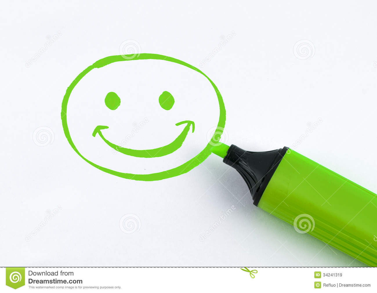 Green Smiley Face Stock Photos: Smile Royalty Free Stock Images