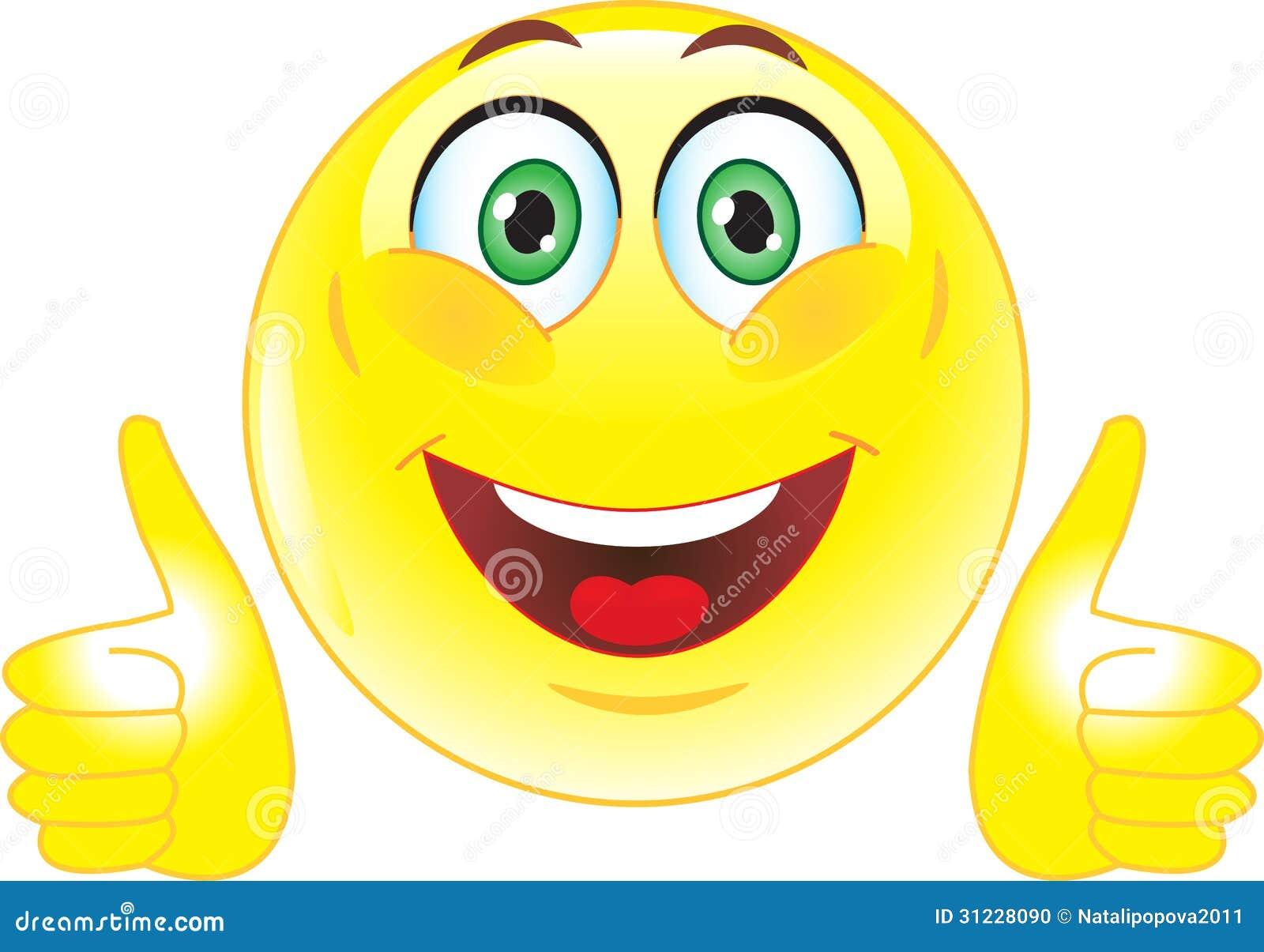 smile joy all right stock photo image 31228090 Thinking Smiley Face Clip Art Winking Smiley Face Clip Art