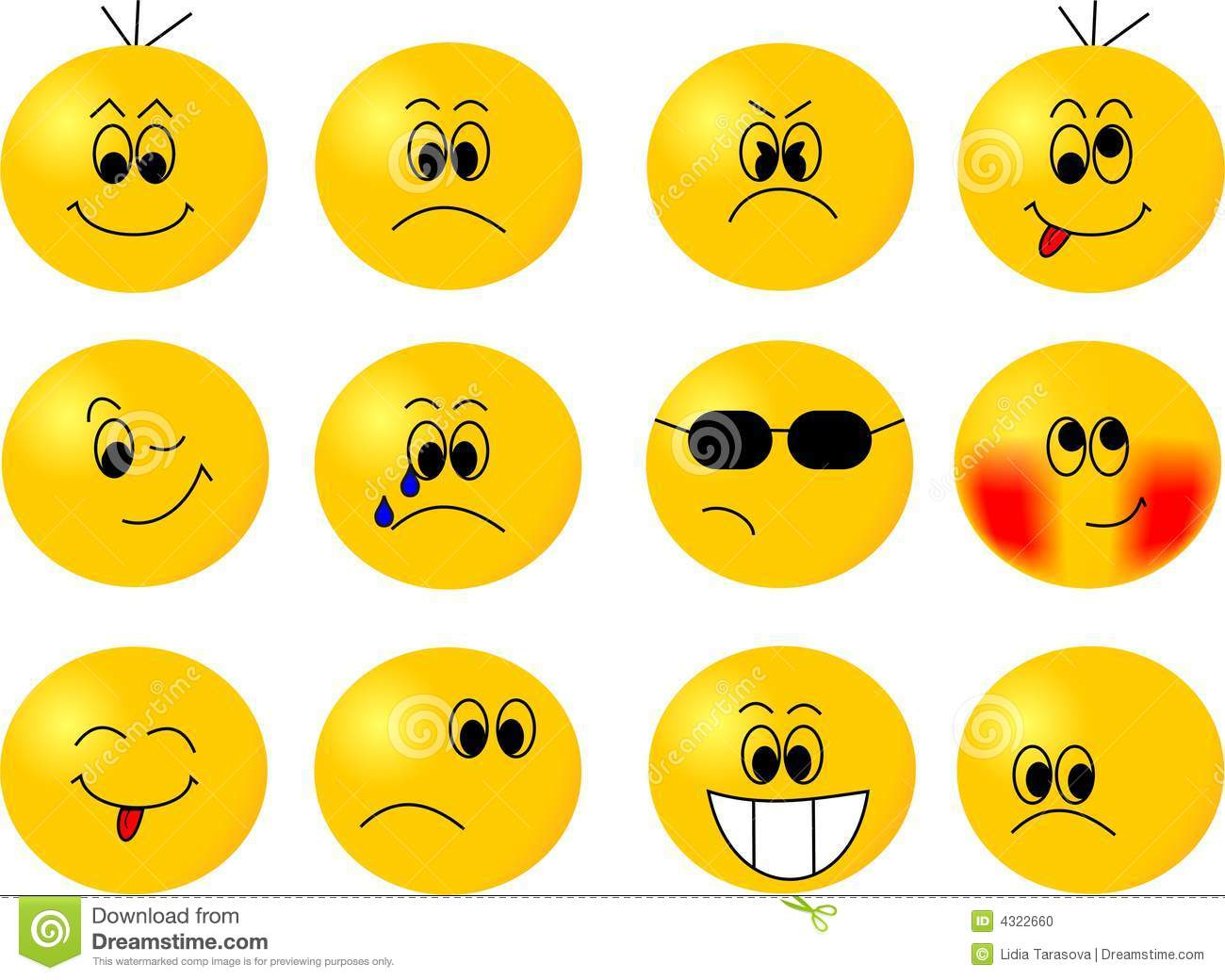Stock Photo Smiles Image4322660 on Map Clipart