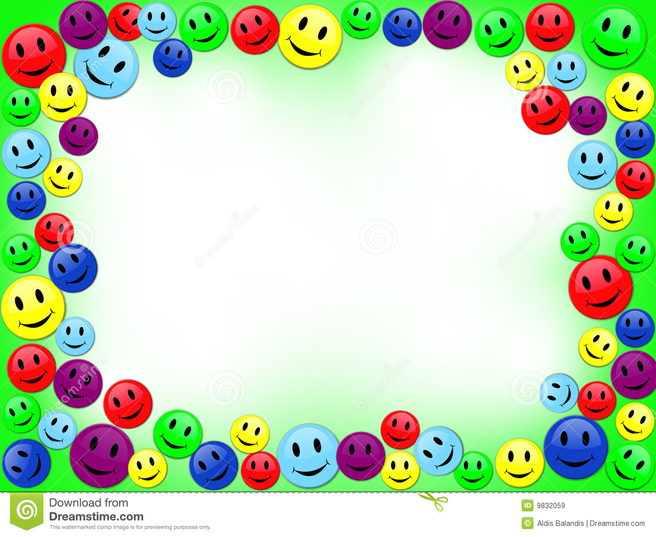 Smiles Frame Royalty Free Stock Images Image 9832059