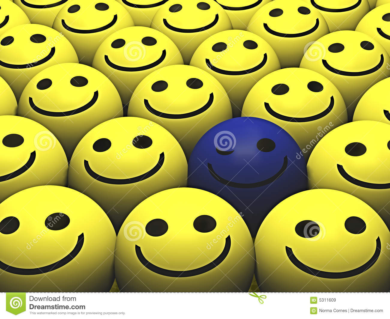 Download Smiley illustrazione di stock. Illustrazione di yellow - 5311609