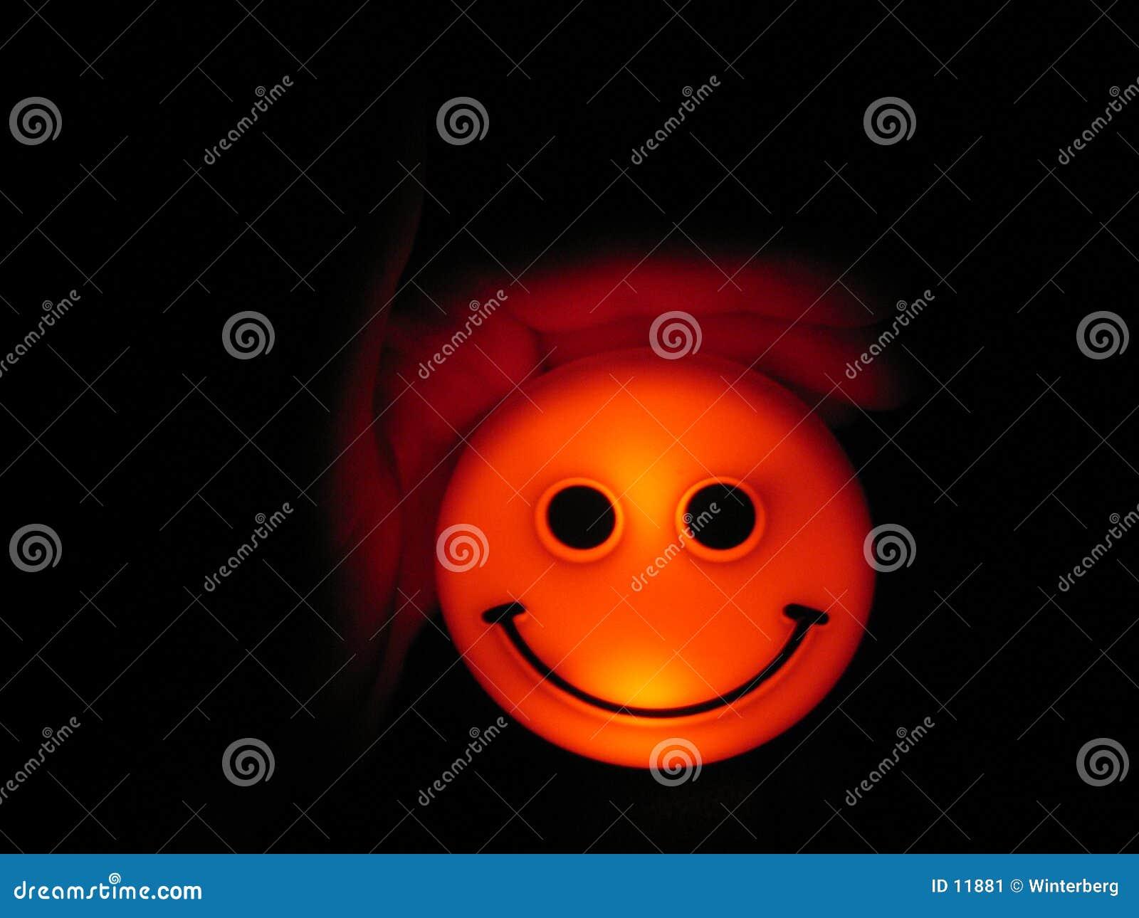 Smiley abrigado