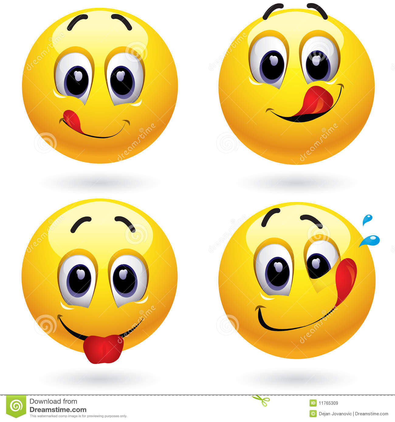 Smiley Balls Royalty Free Stock Images Image 11765309