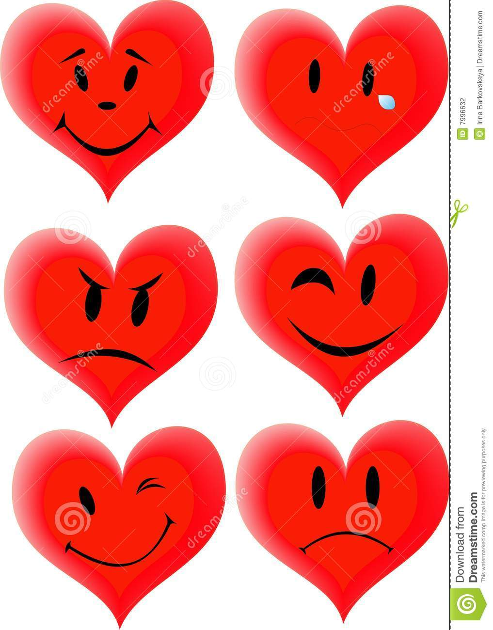 Free download of Heart Corel Draw vector graphics and