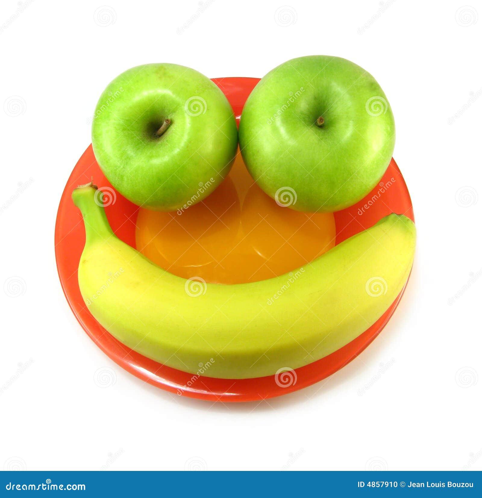 Smiley de la fruta