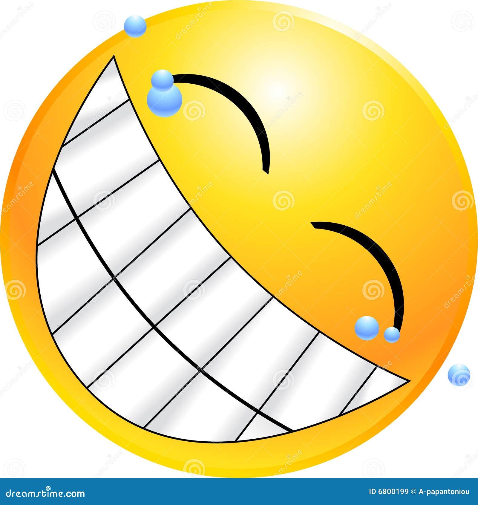 Smiley De Visage D émoticône Illustration De Vecteur Illustration