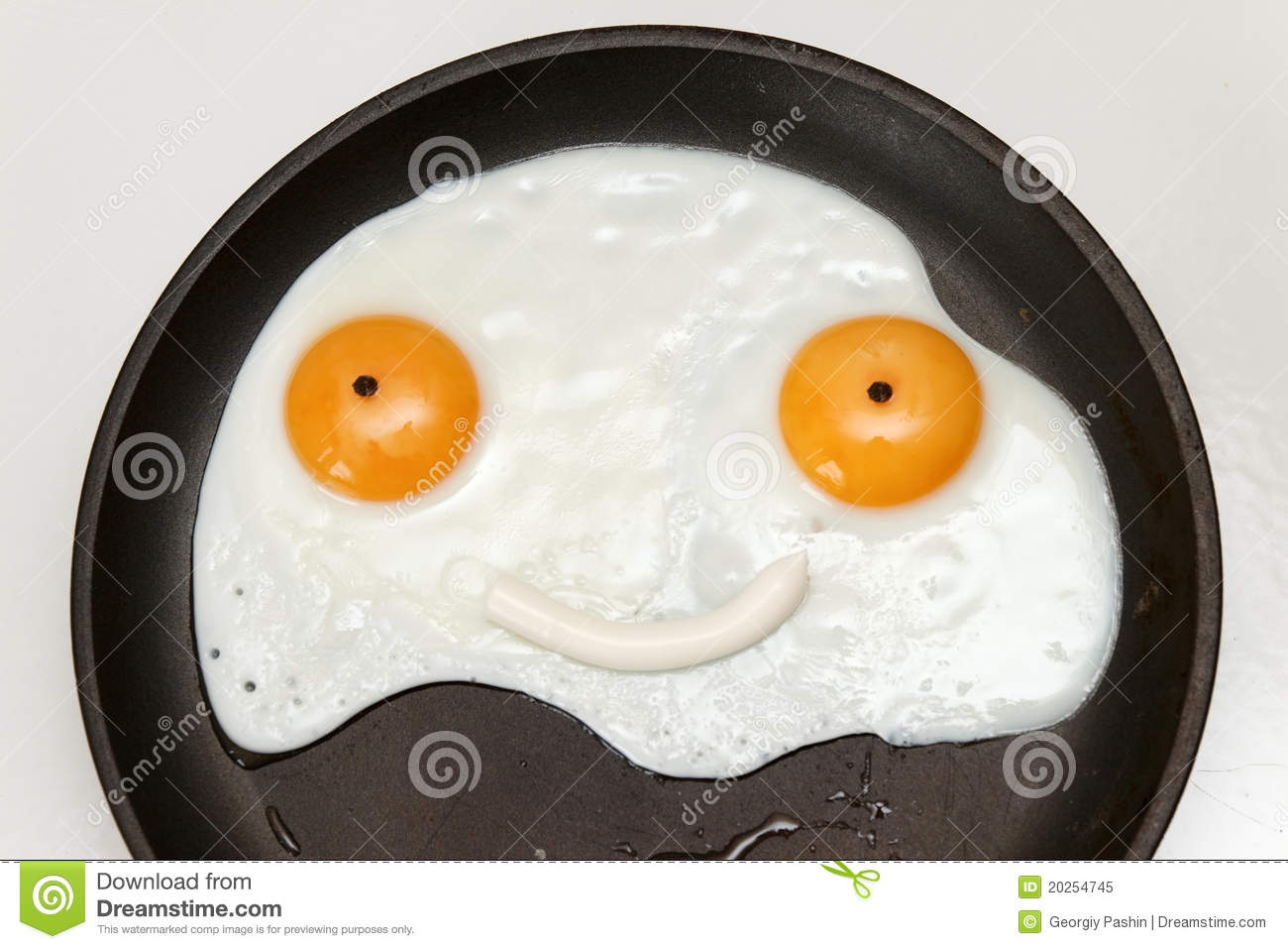 Smiley Face Breakfast Royalty Free Stock Photo Image