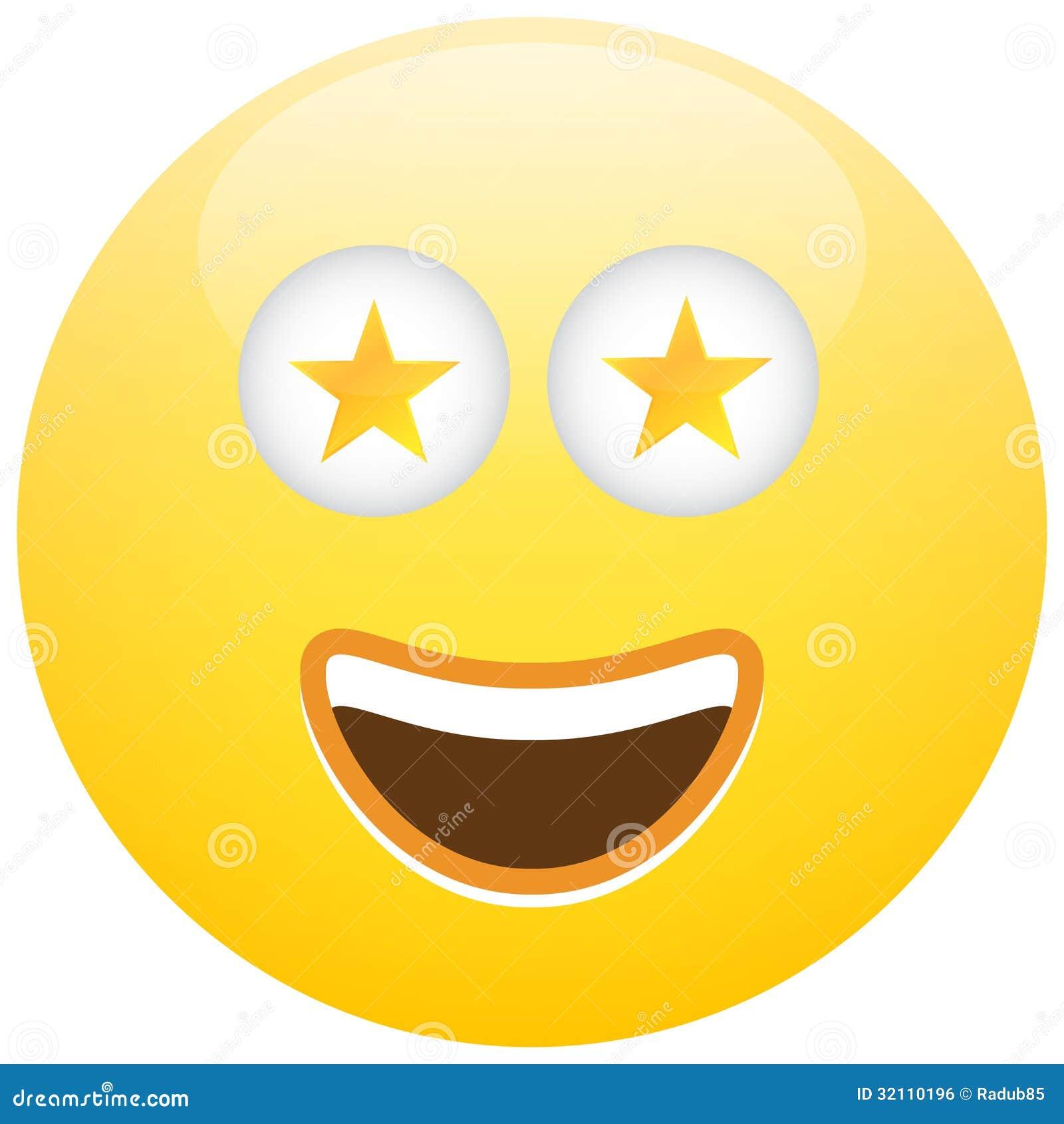 Grinning Face With Star Eyes Emoji - Emojipedia