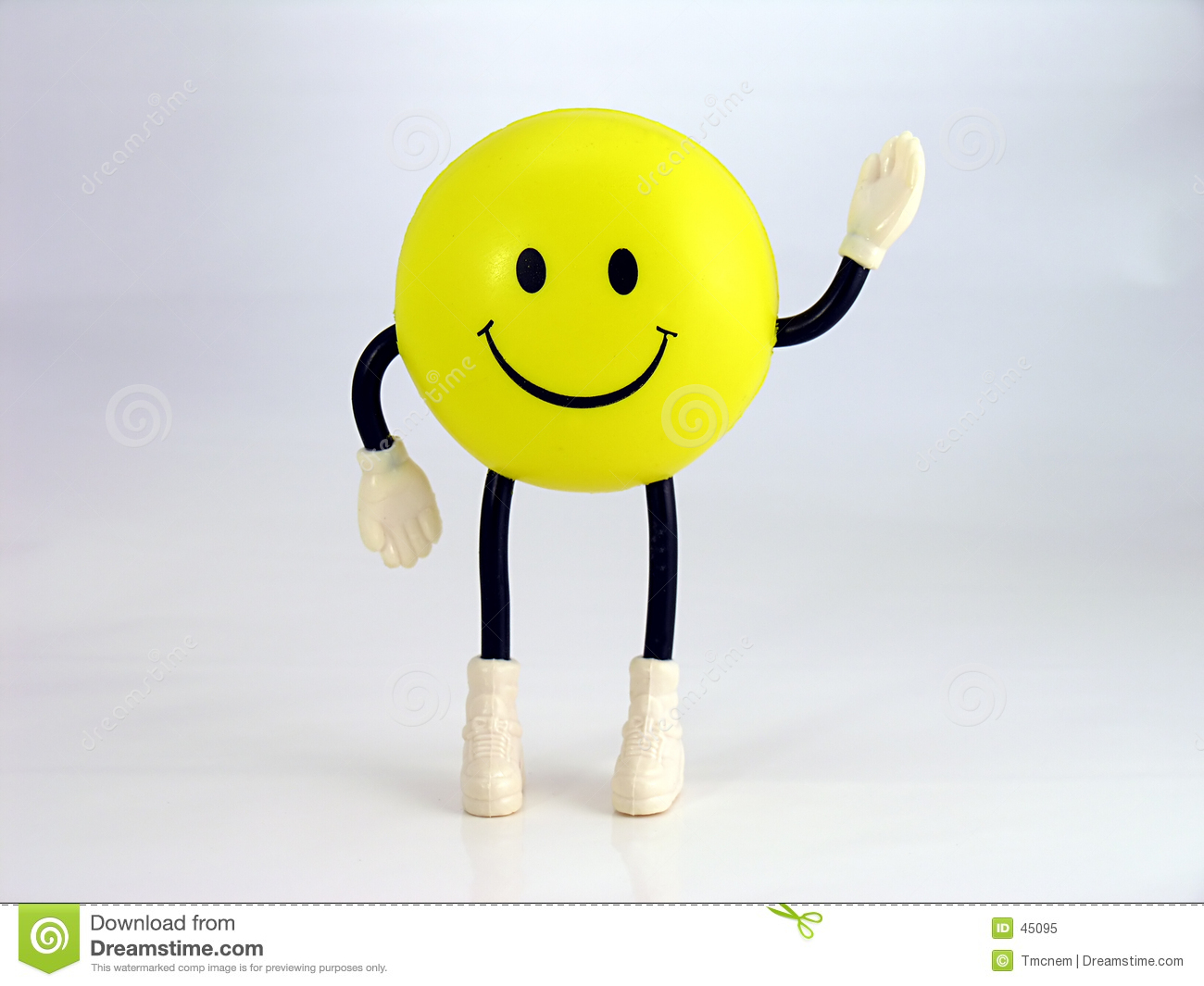 smiley face guy stock image image of smirk squeeze stress 45095