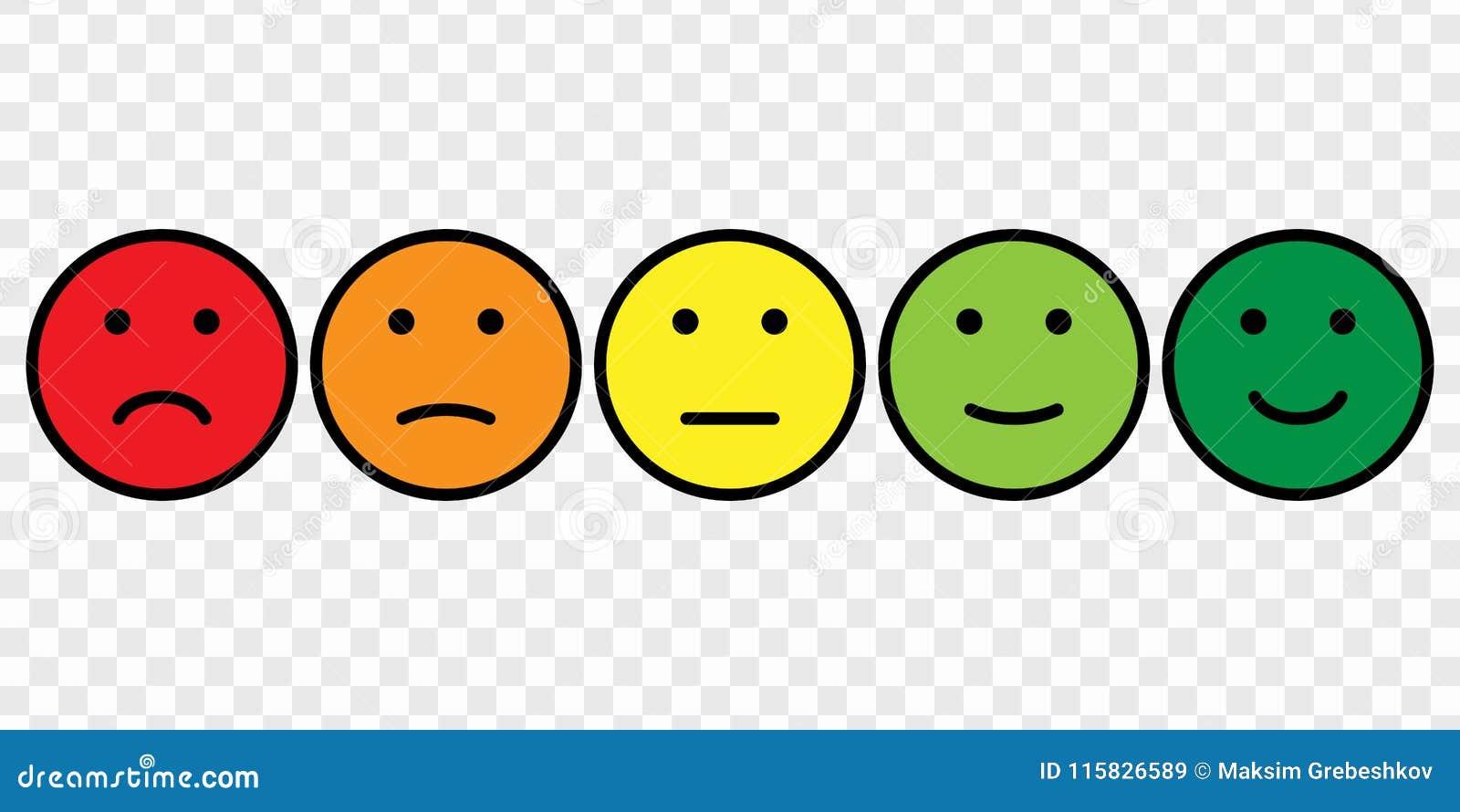 Smiley Face Icon Set