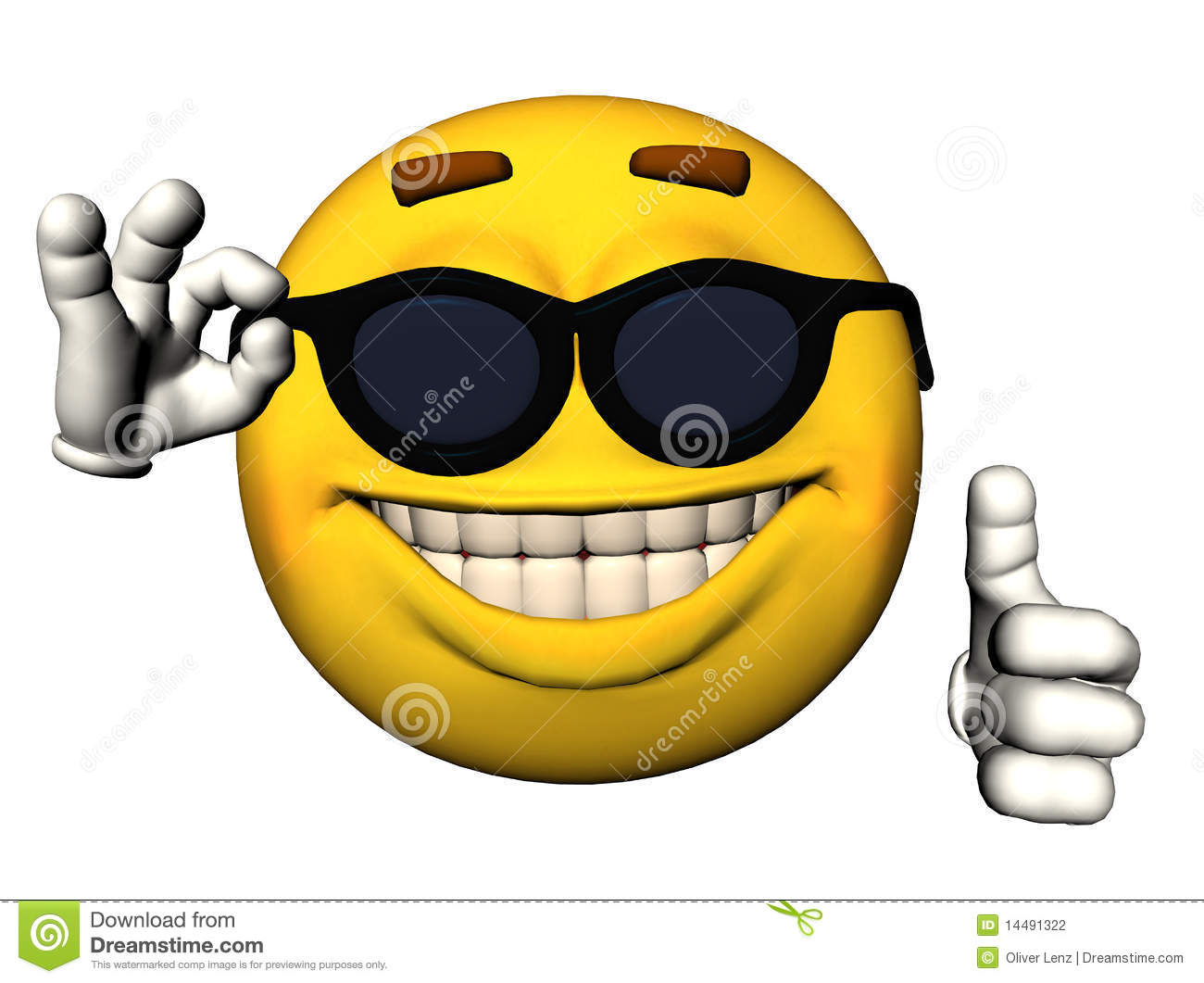 smiley face with thumbs up stock illustration. illustration of