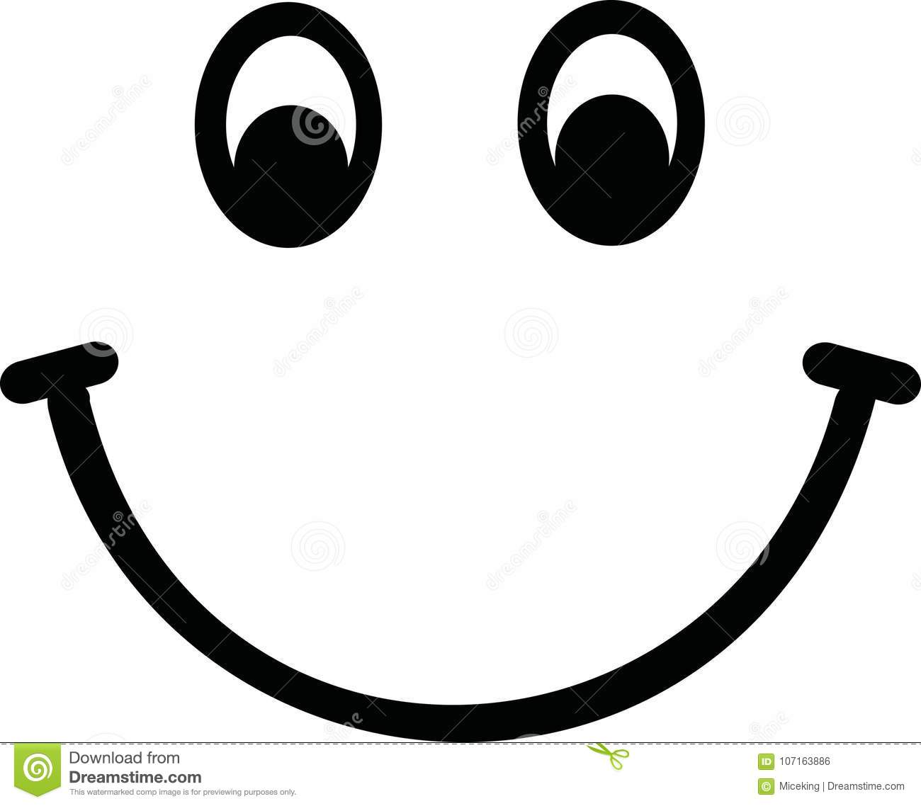 Smiley Face Vector Stock Vector. Illustration Of Icon
