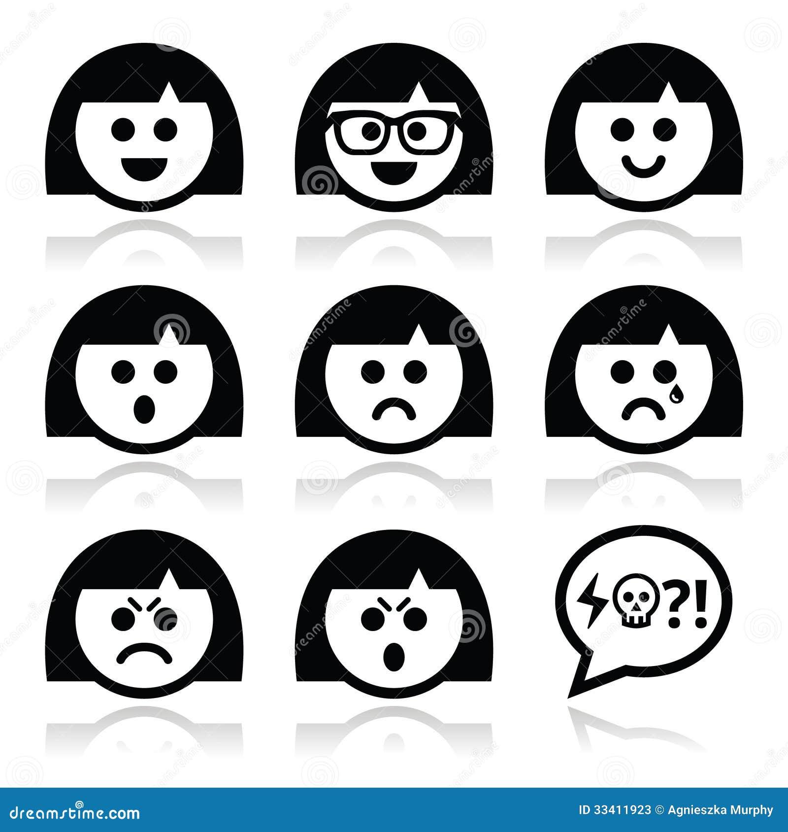 Smiley Girl Or Woman F...