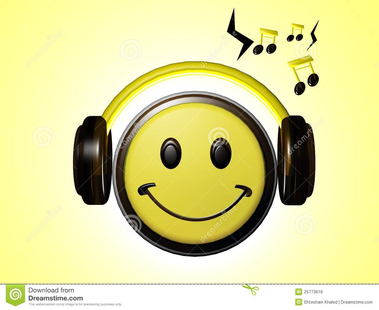 smiley listening music royalty free stock photos image World Globe Icon Globe Symbol